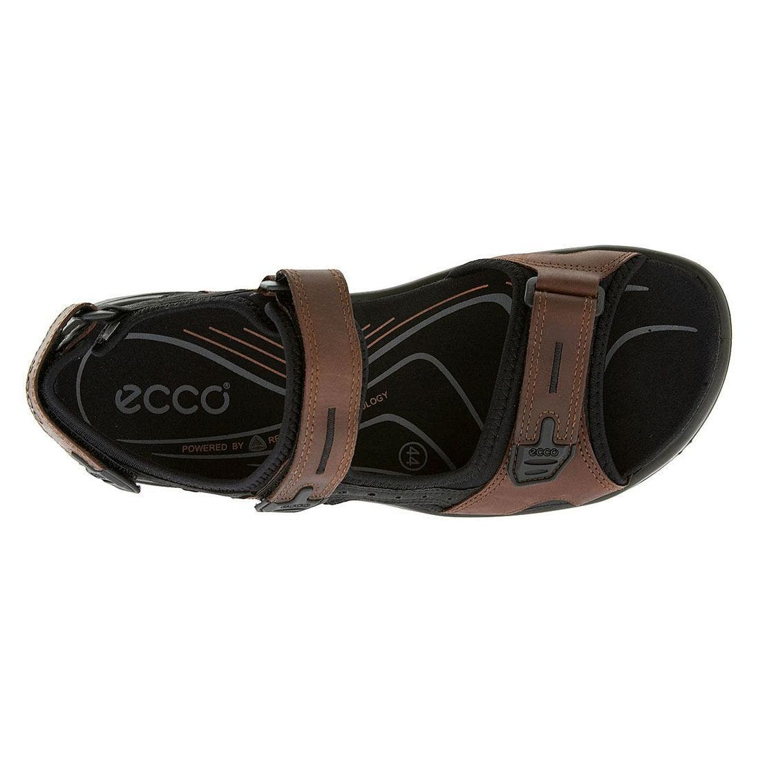 'Yucatan' Sandal,                             Alternate thumbnail 9, color,                             BROWN/BLACK