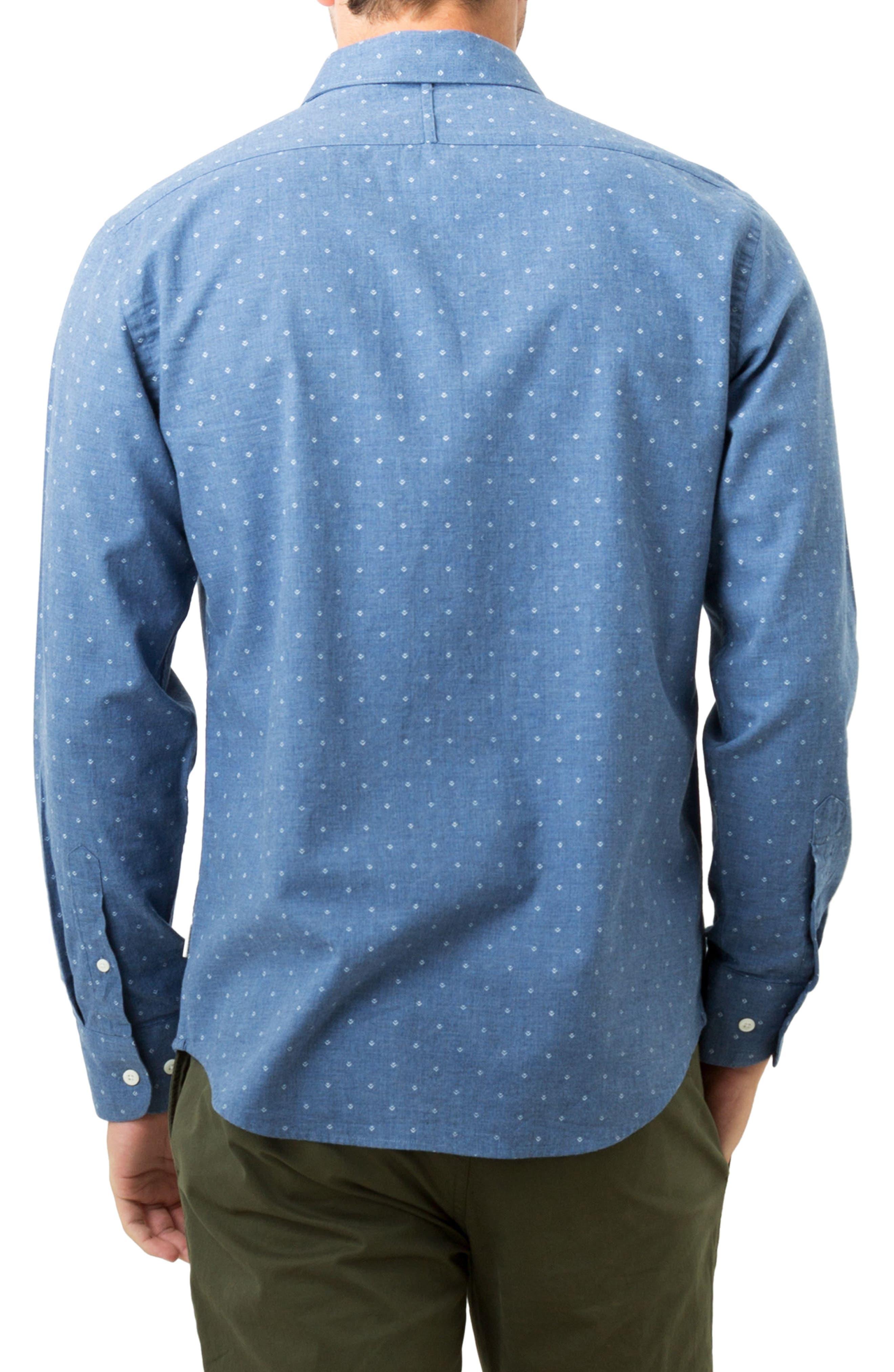 Madison Blues Woven Shirt,                             Alternate thumbnail 2, color,                             410