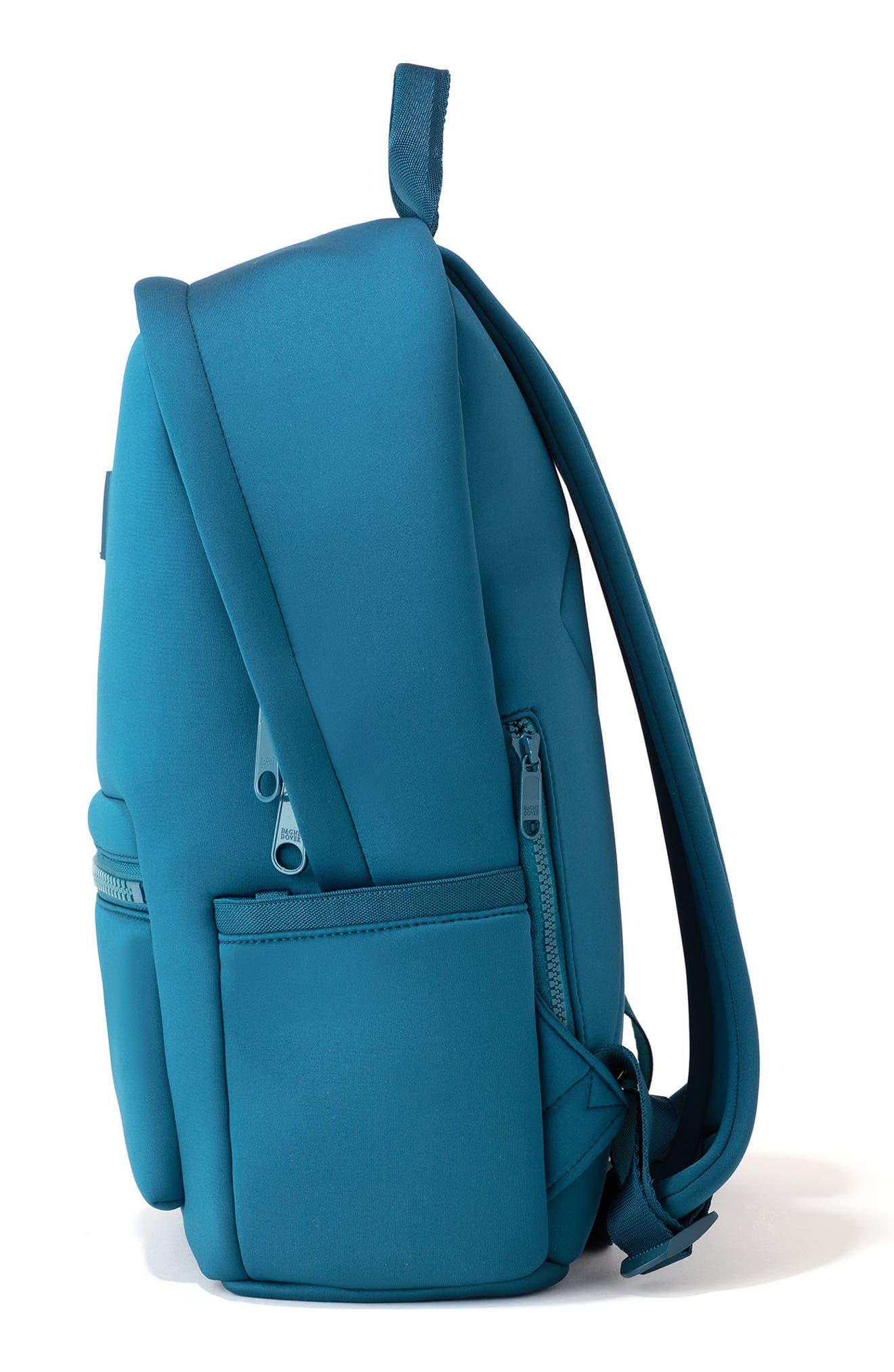 DAGNE DOVER,                             365 Dakota Neoprene Backpack,                             Alternate thumbnail 4, color,                             BAY BLUE