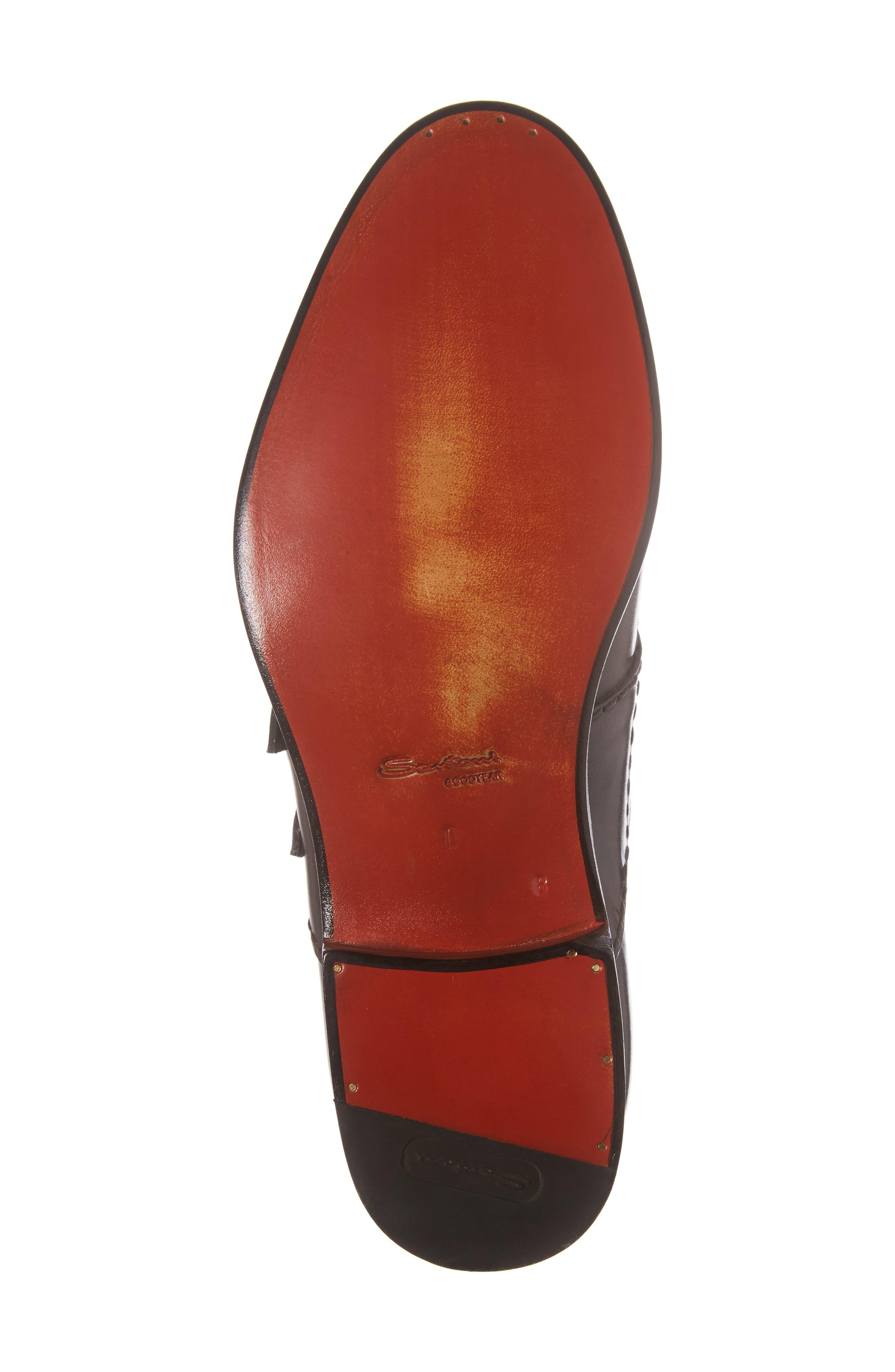 Goodwin Double Monk Strap Shoe,                             Alternate thumbnail 6, color,                             030