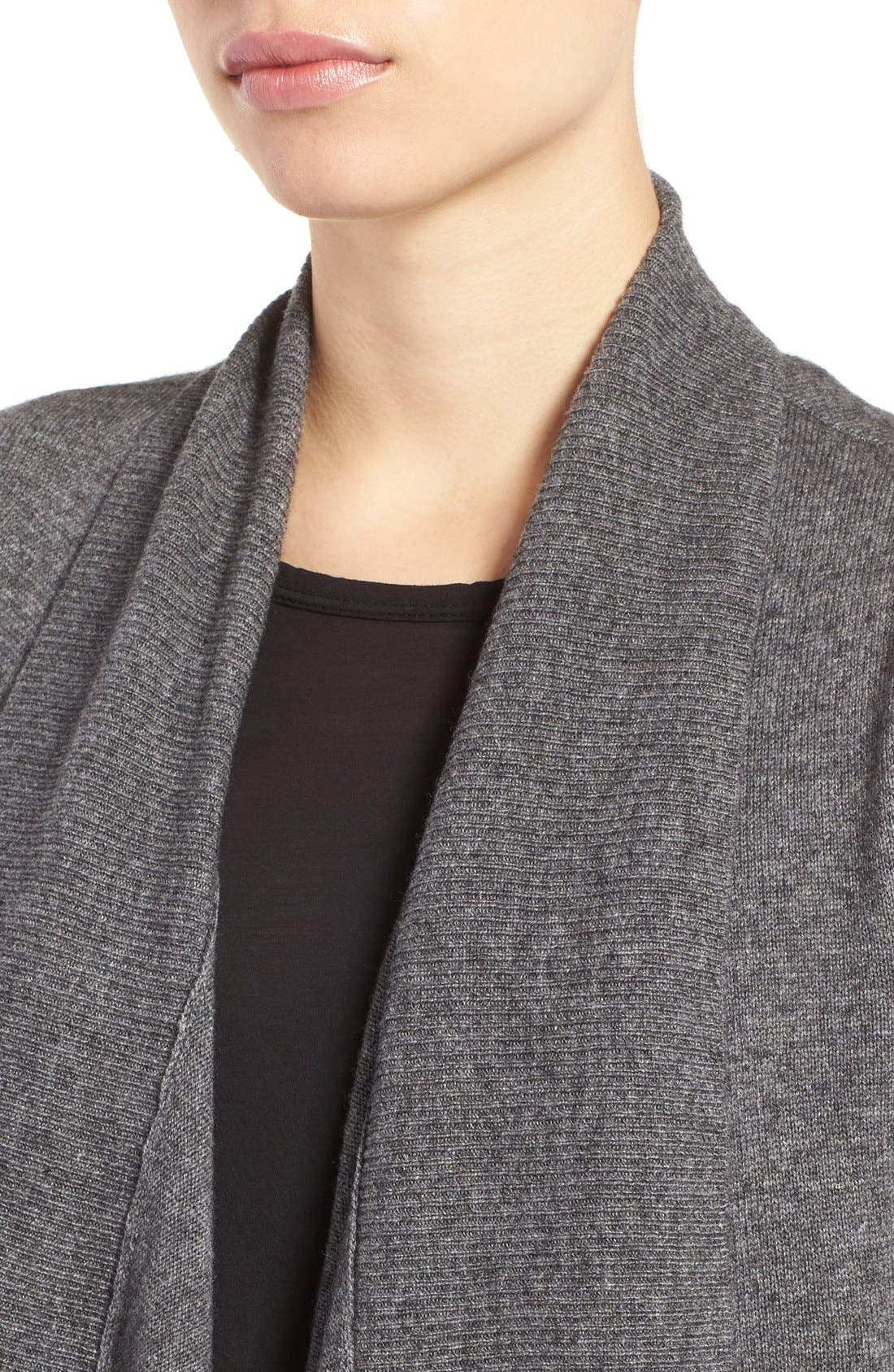Wool & Cashmere Drape Front Sweater Vest,                             Alternate thumbnail 51, color,