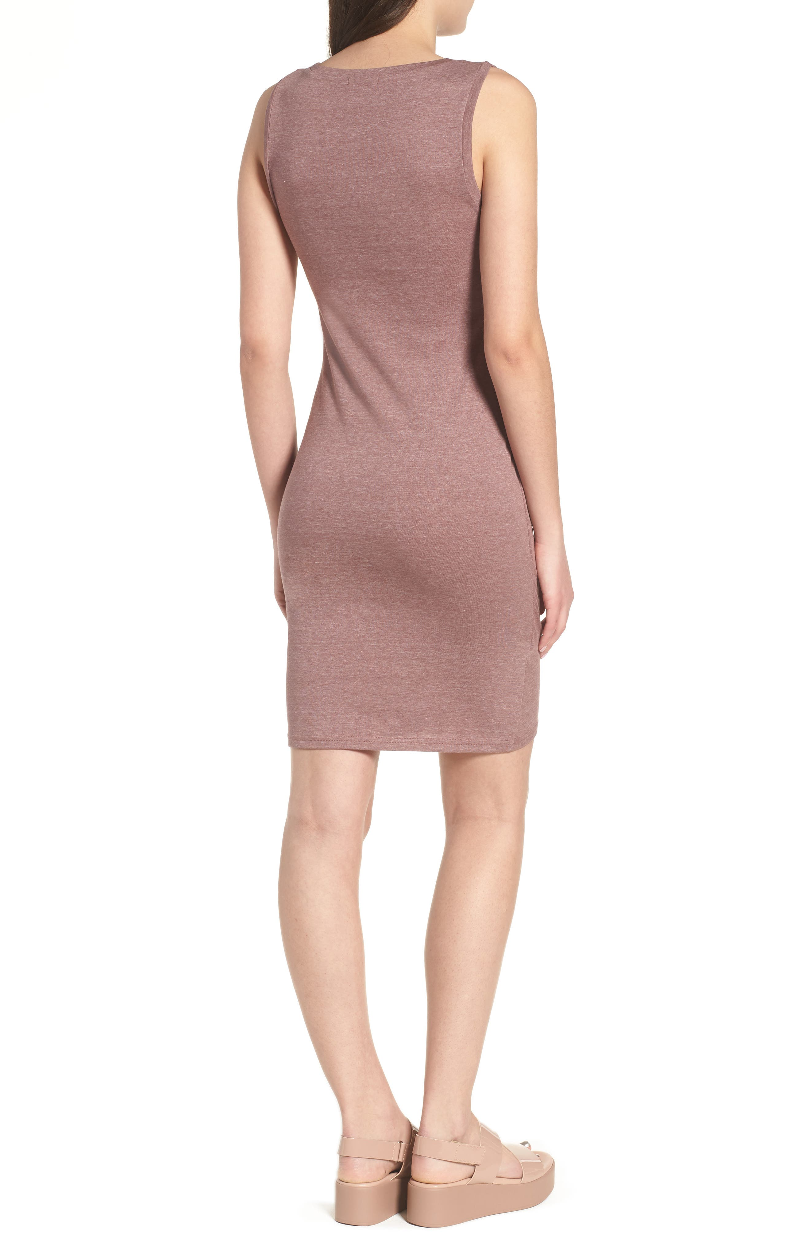 Ruched Body-Con Tank Dress,                             Alternate thumbnail 46, color,