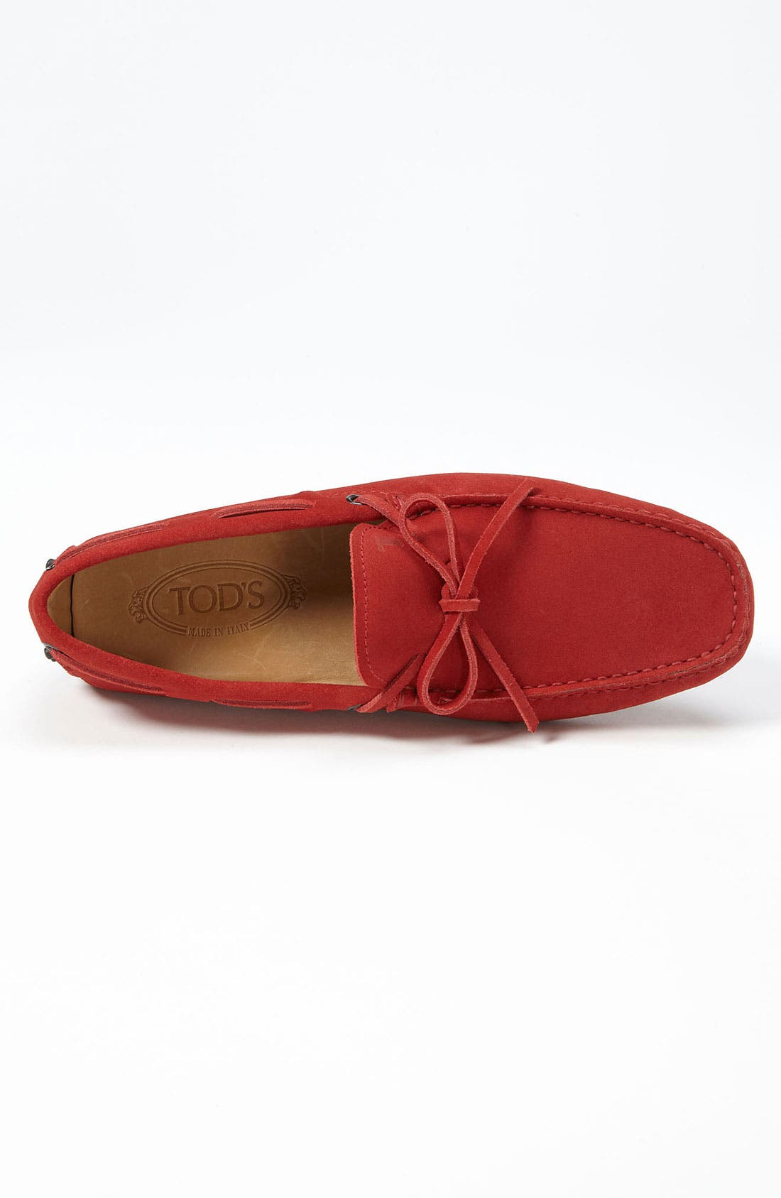 Gommini Tie Front Driving Moccasin,                             Alternate thumbnail 83, color,
