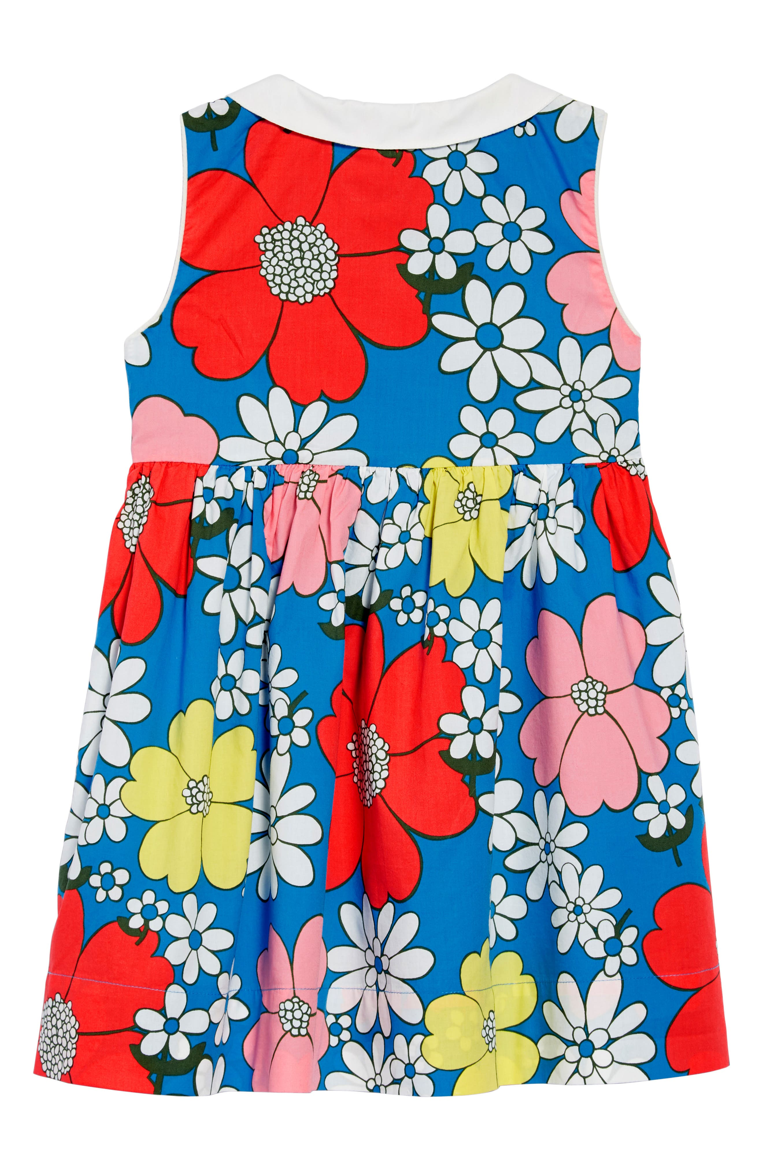 Floral Collared Dress,                             Alternate thumbnail 2, color,                             424