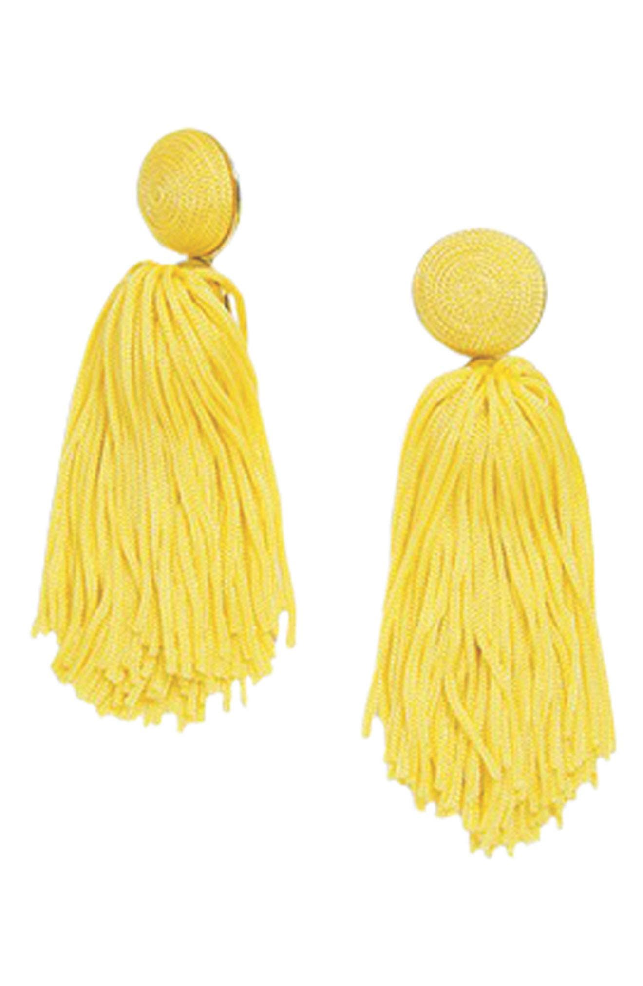Sonatina Tassel Earrings,                             Alternate thumbnail 28, color,