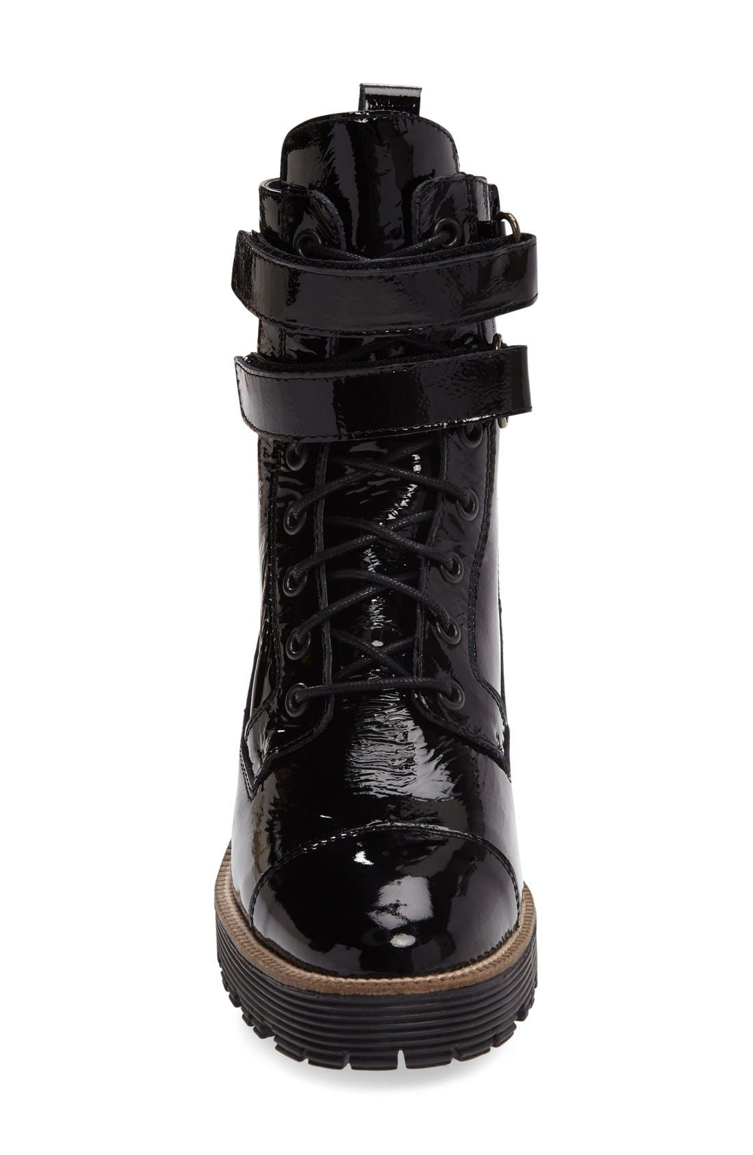 Tyra Combat Boot,                             Alternate thumbnail 7, color,