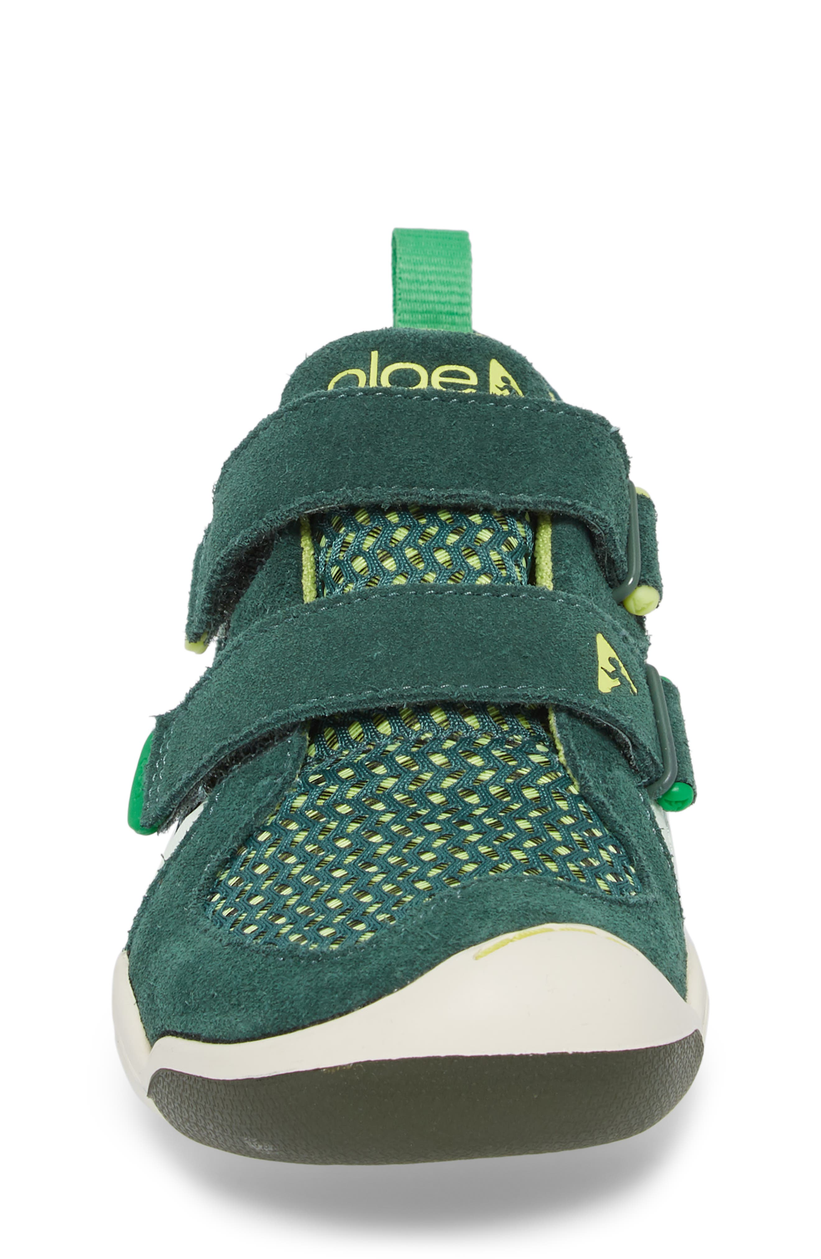 Ty Customizable Sneaker,                             Alternate thumbnail 4, color,                             AMAZON GREEN