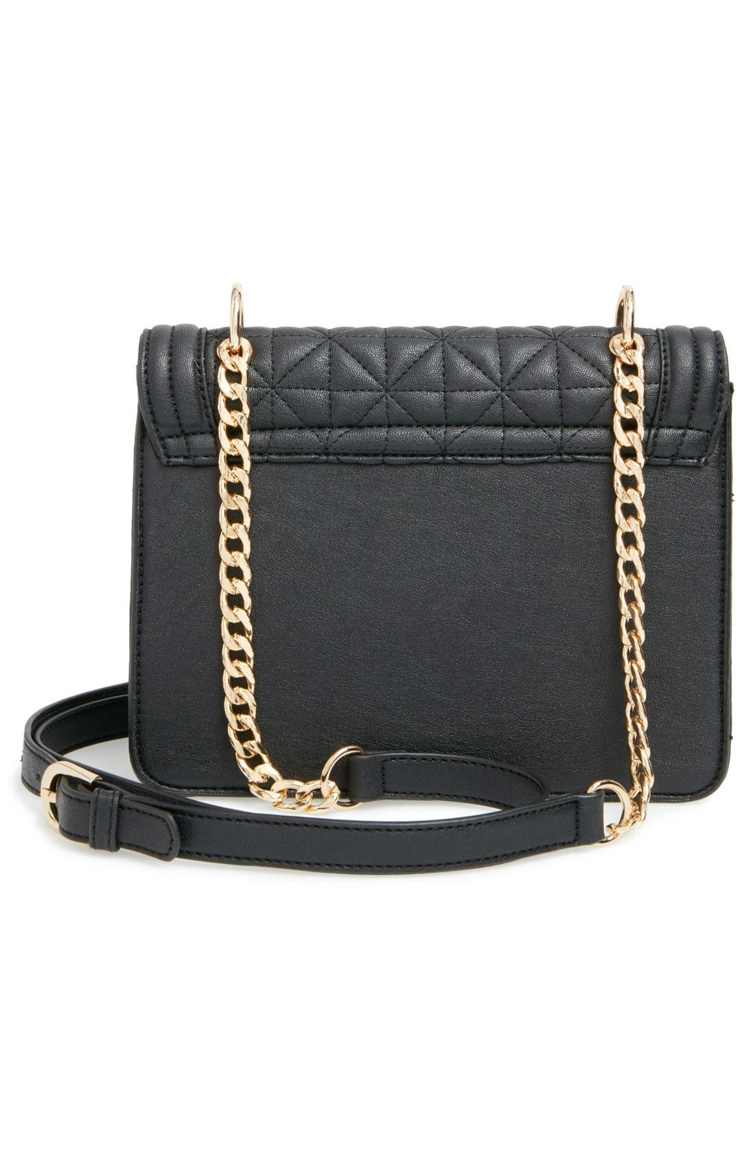 BP.,                             Quilted Crossbody Bag,                             Alternate thumbnail 2, color,                             001