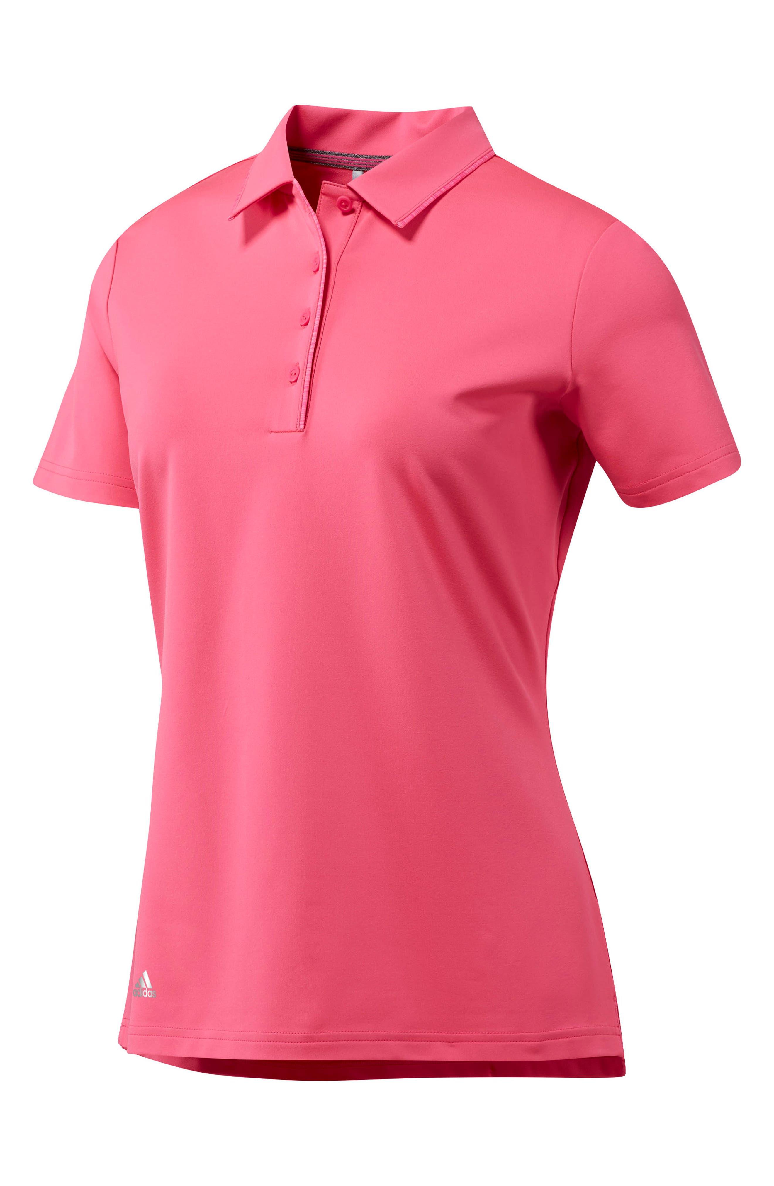 Ultimate Golf Polo,                             Main thumbnail 1, color,                             SHO PINK