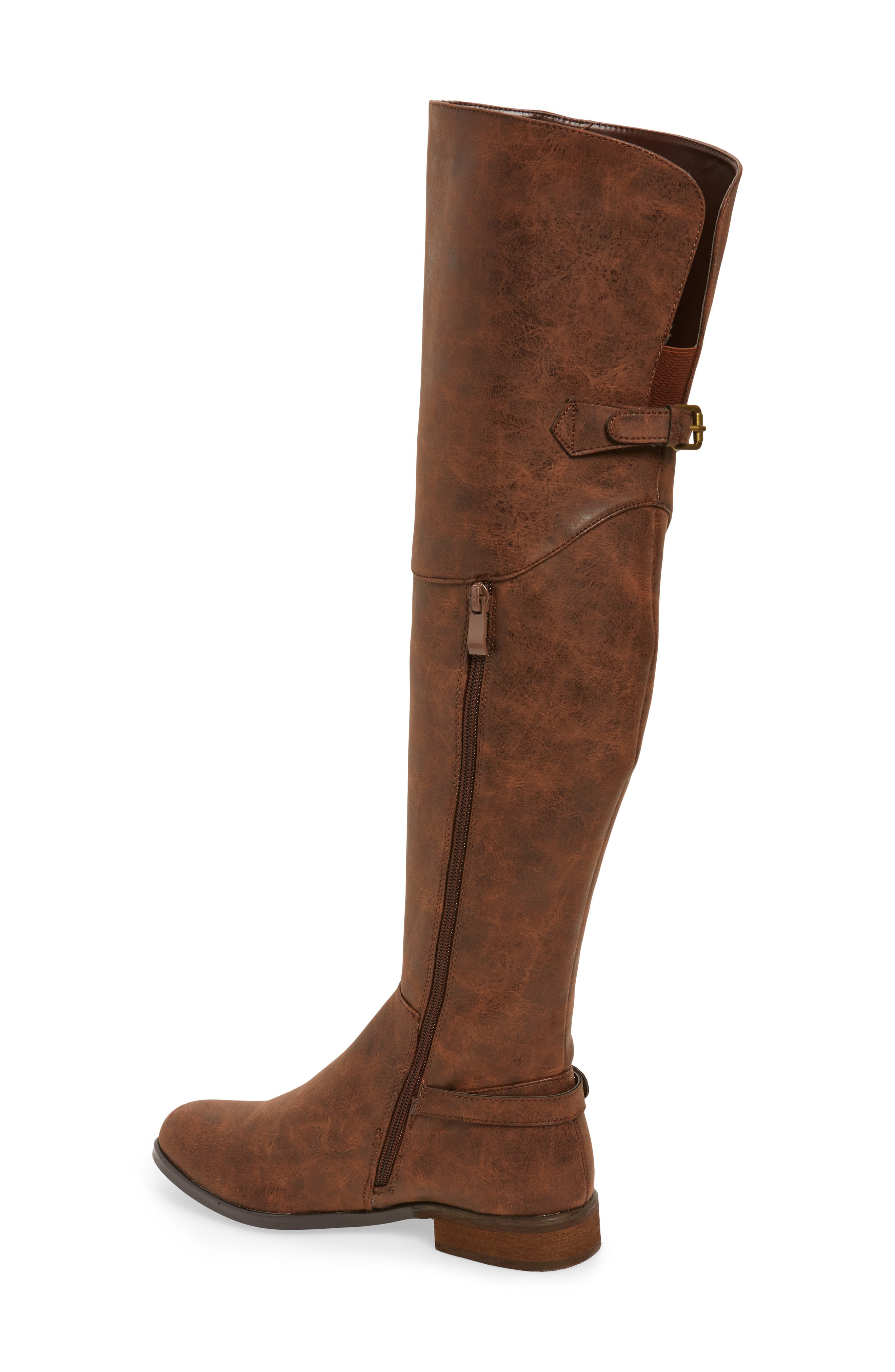 Otto Over the Knee Boot,                             Alternate thumbnail 5, color,