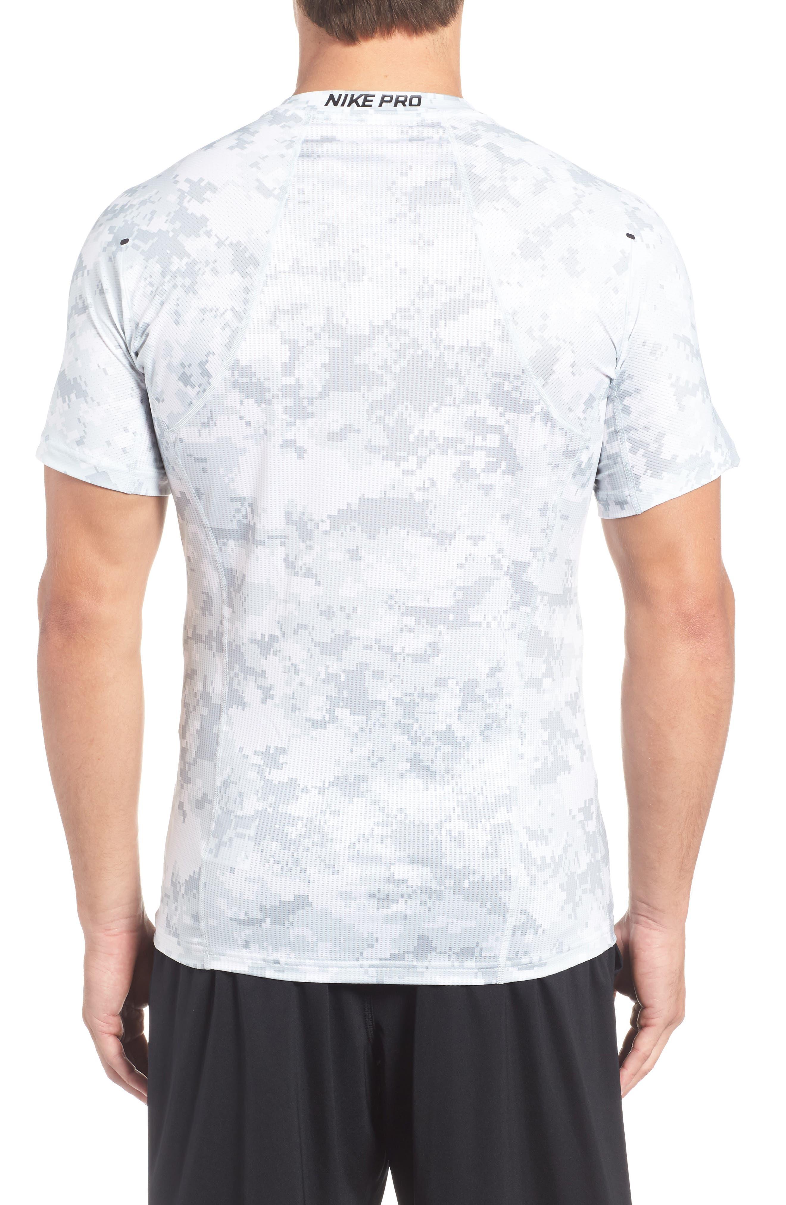 Pro Hypercool Seamless T-Shirt,                             Alternate thumbnail 2, color,                             100