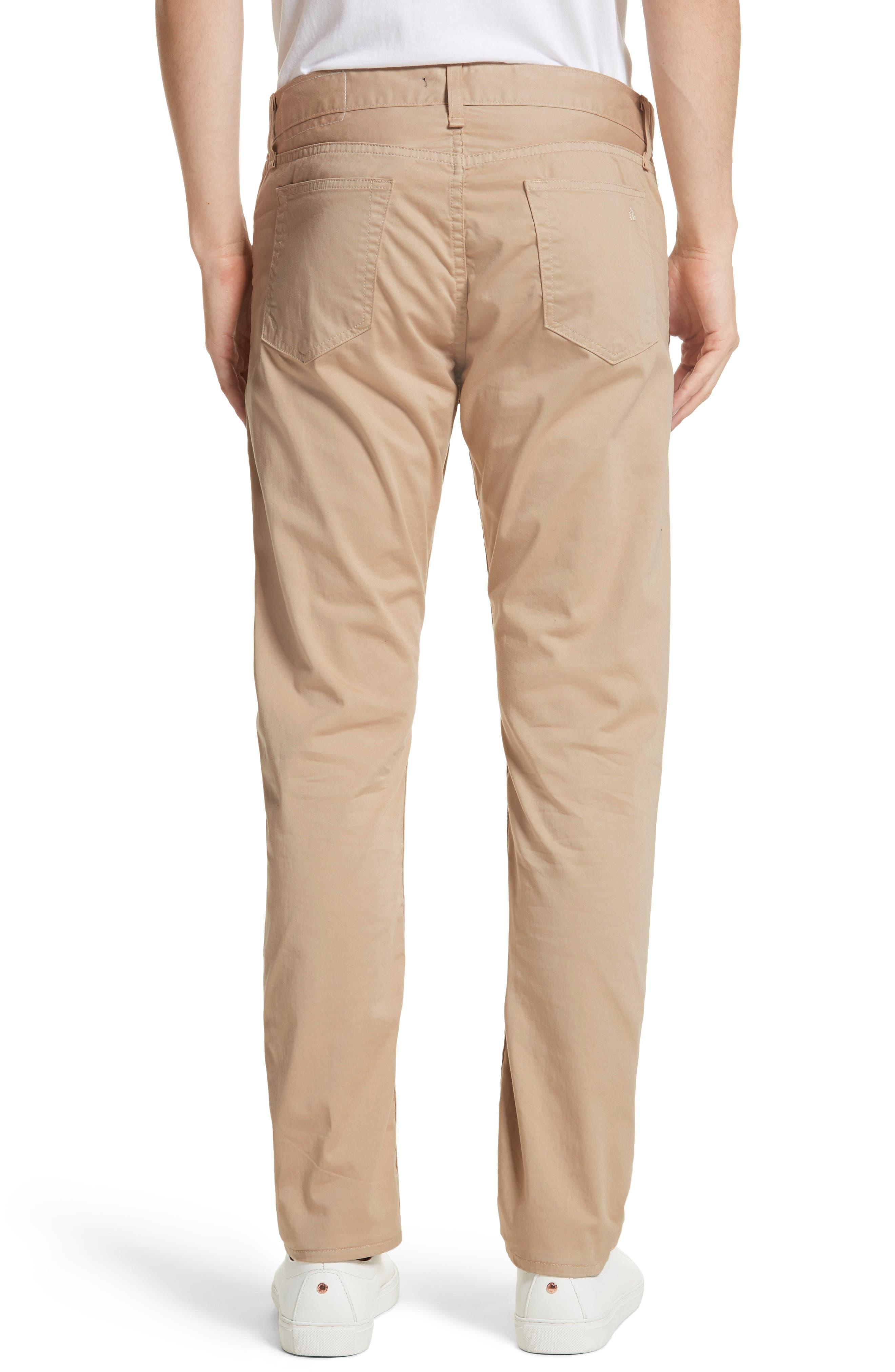 Fit 2 Five-Pocket Twill Pants,                             Alternate thumbnail 2, color,                             BEIGE