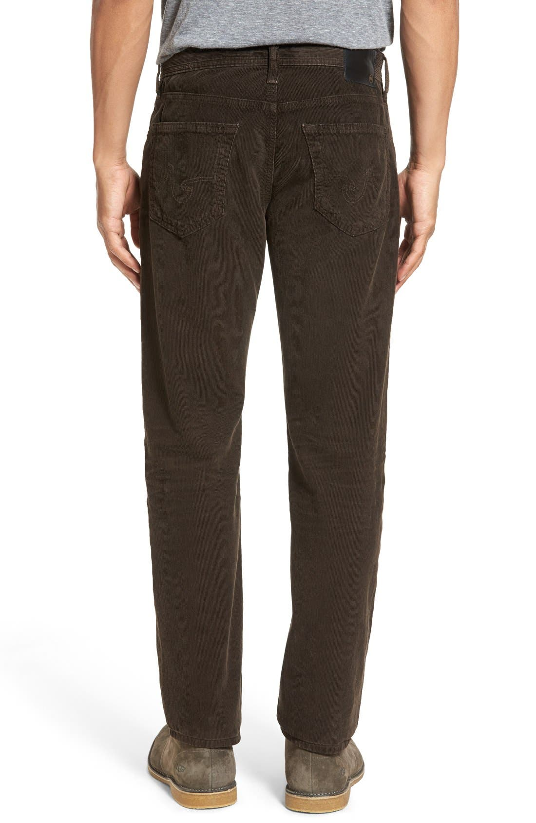 'Graduate' Tailored Straight Leg Corduroy Pants,                             Alternate thumbnail 23, color,