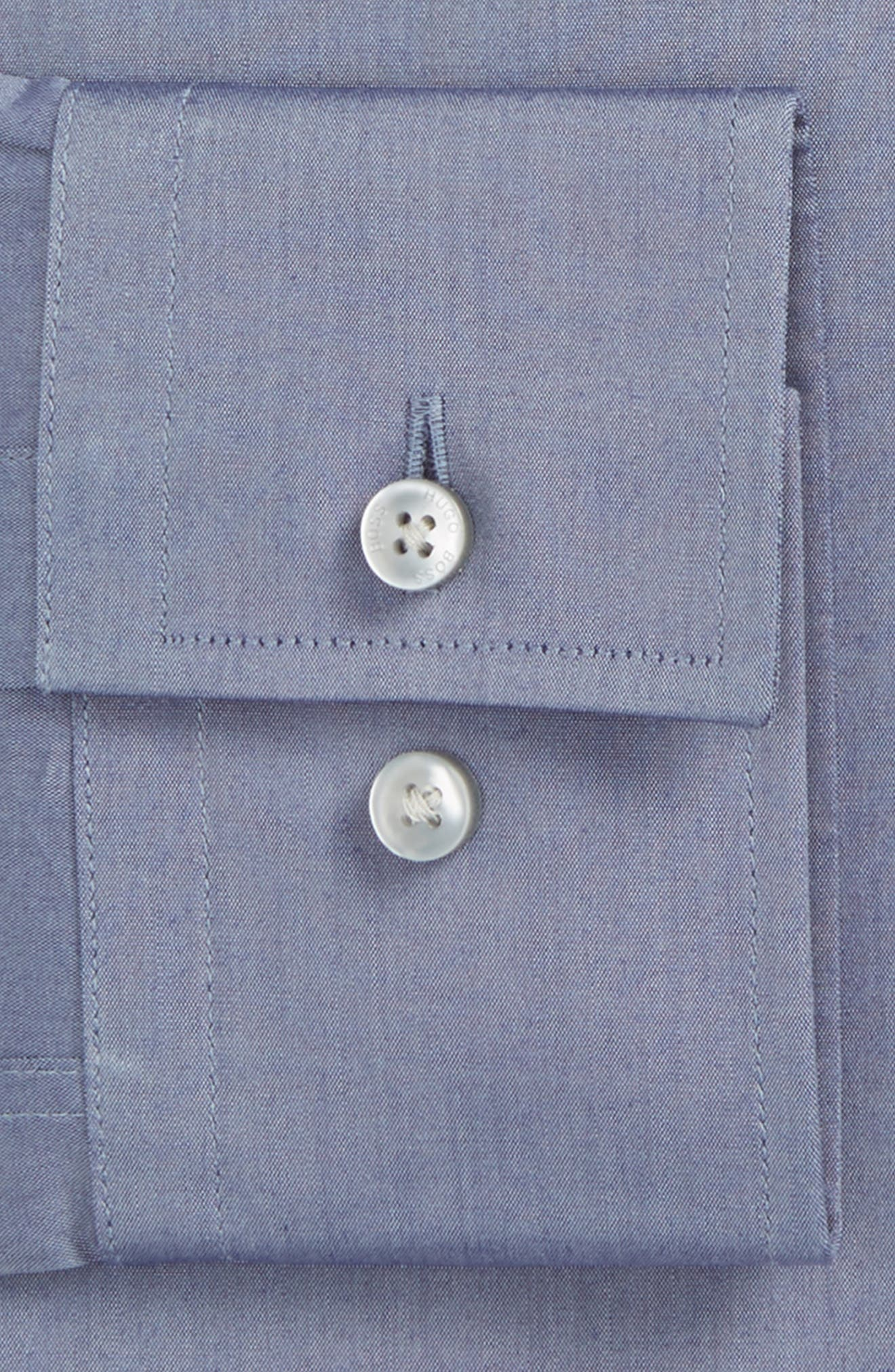 Jenno Slim Fit Solid Dress Shirt,                             Alternate thumbnail 2, color,                             021