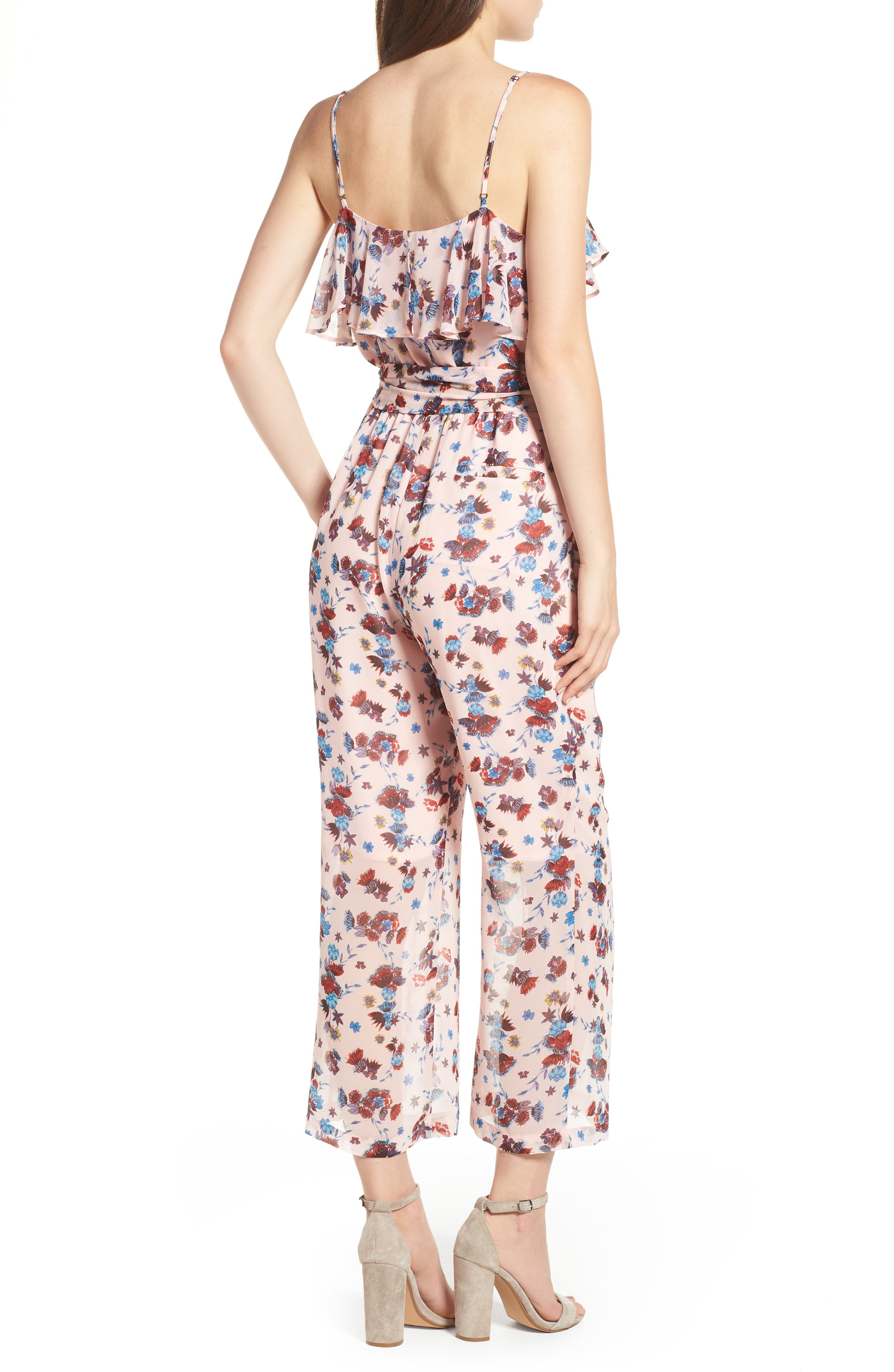 Ruth Jumpsuit,                             Alternate thumbnail 2, color,                             PINK MULTI