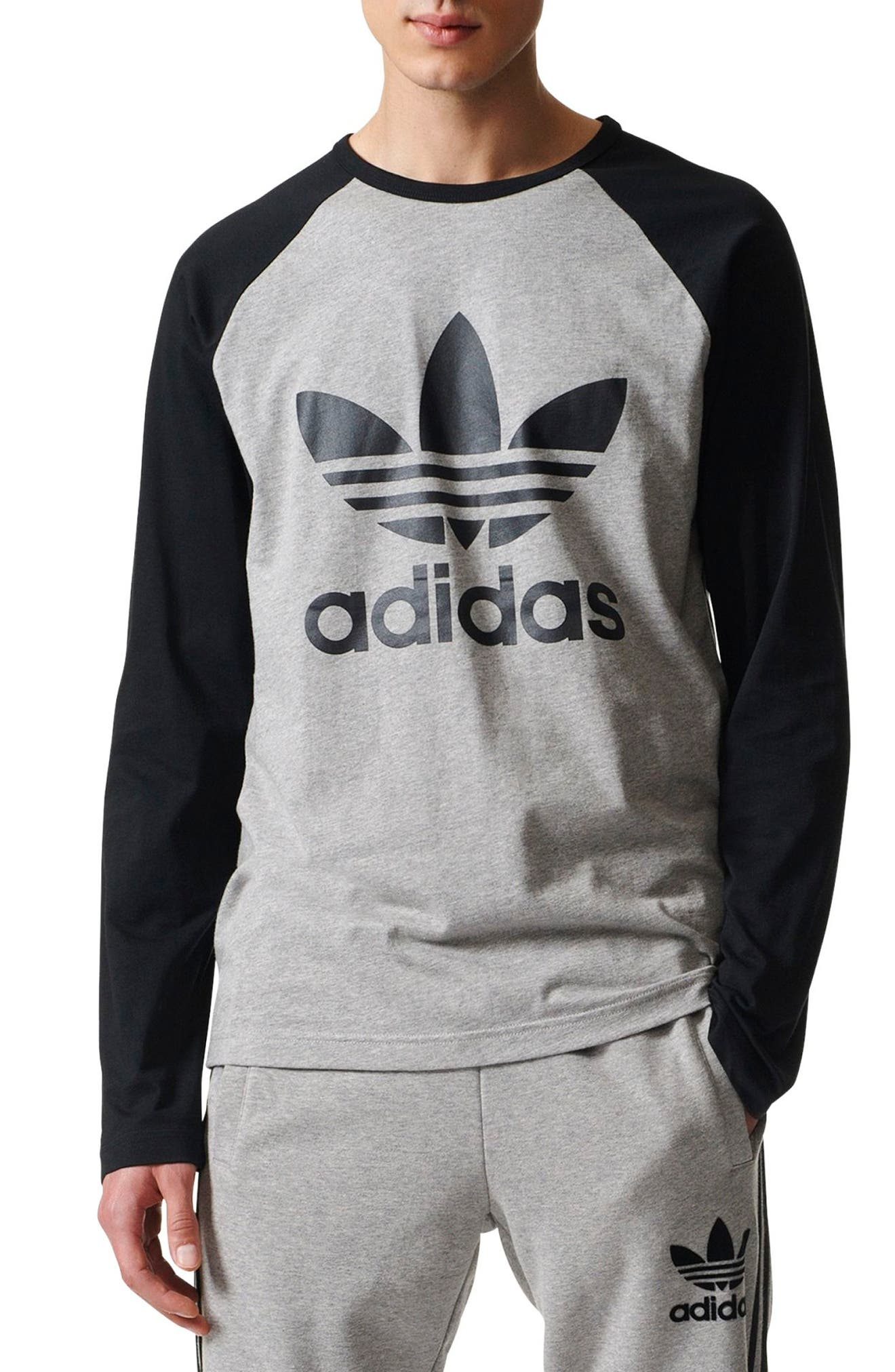 adidas Logo Graphic T-Shirt,                             Main thumbnail 1, color,                             035
