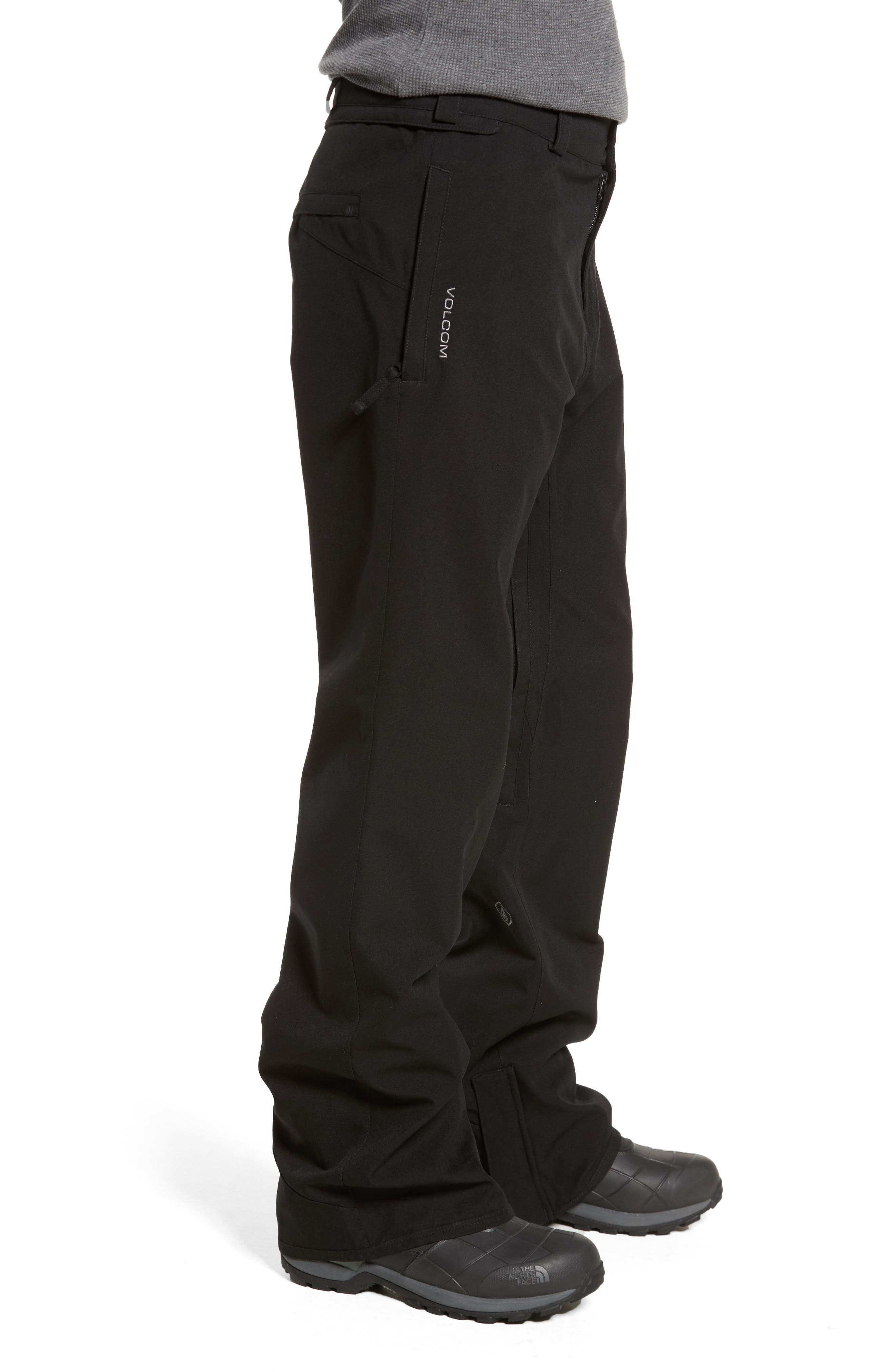 Weatherproof Snow Chino Pants,                             Alternate thumbnail 3, color,                             001