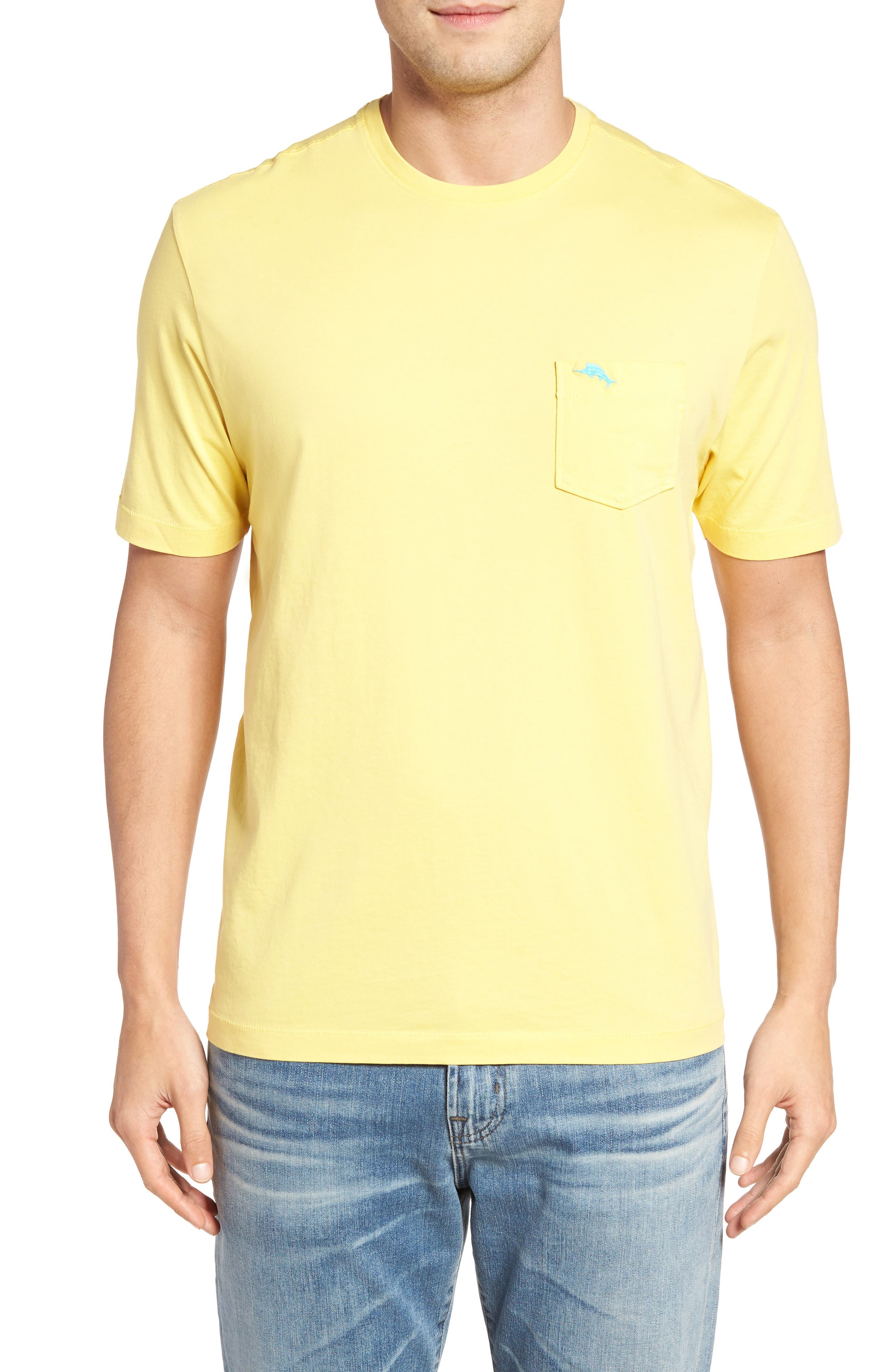 New Bali Sky Pima Cotton Pocket T-Shirt,                             Main thumbnail 26, color,