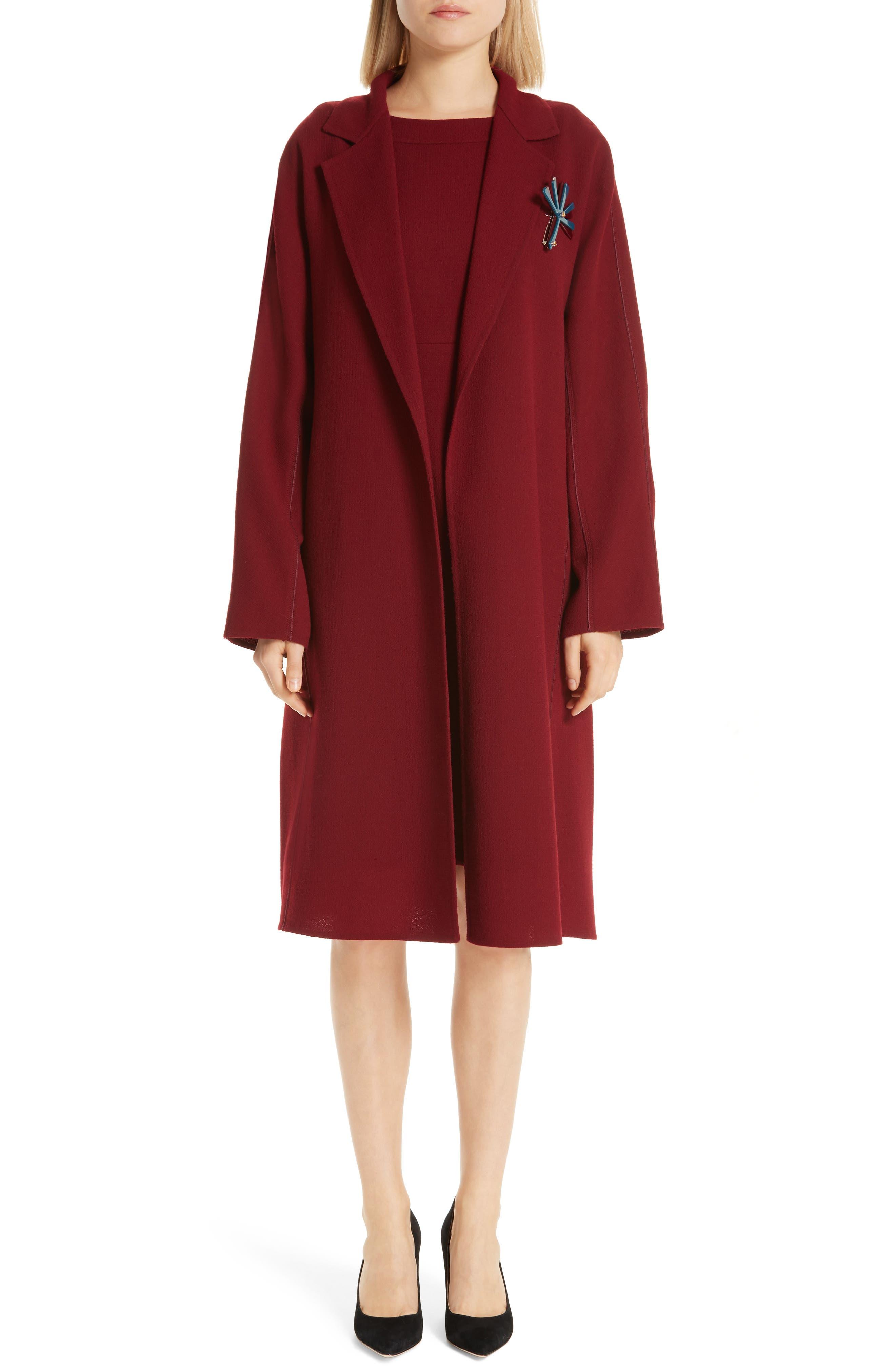 Wool Jacket with Pin,                             Main thumbnail 1, color,                             600