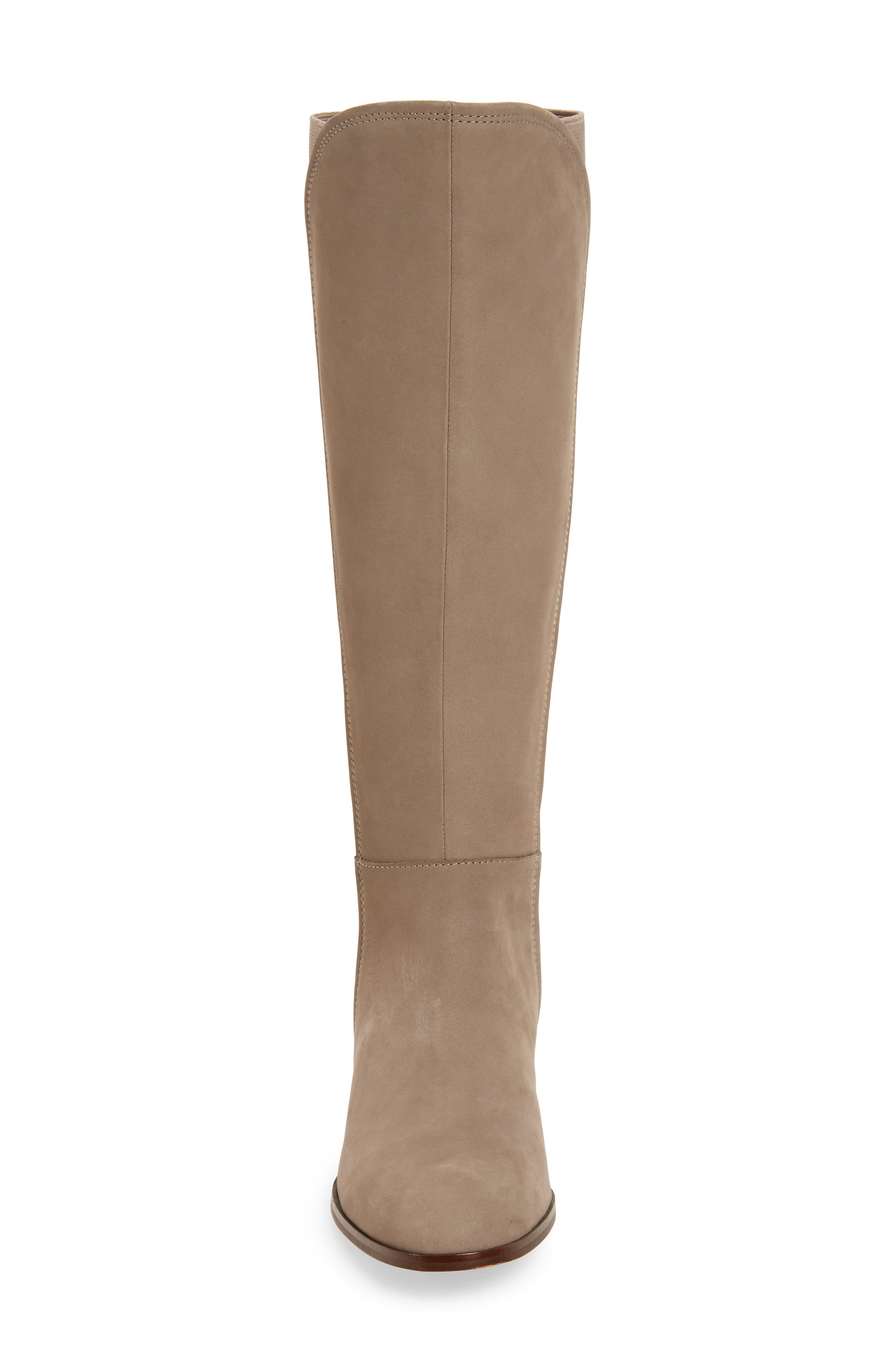 Vallery Elastic Back Knee High Boot,                             Alternate thumbnail 8, color,
