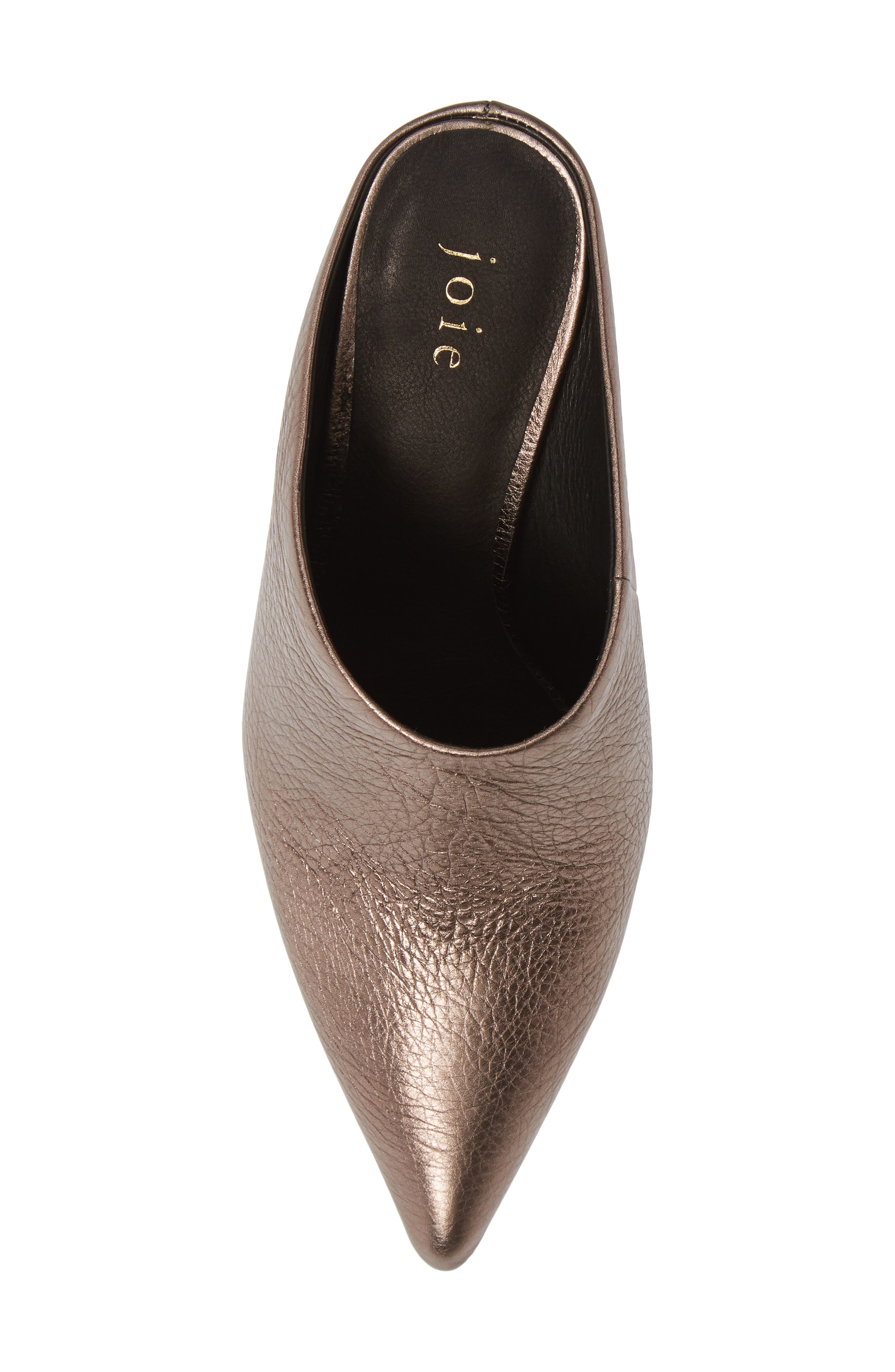 Alinie Pointy Toe Mule,                             Alternate thumbnail 5, color,                             BRONZE