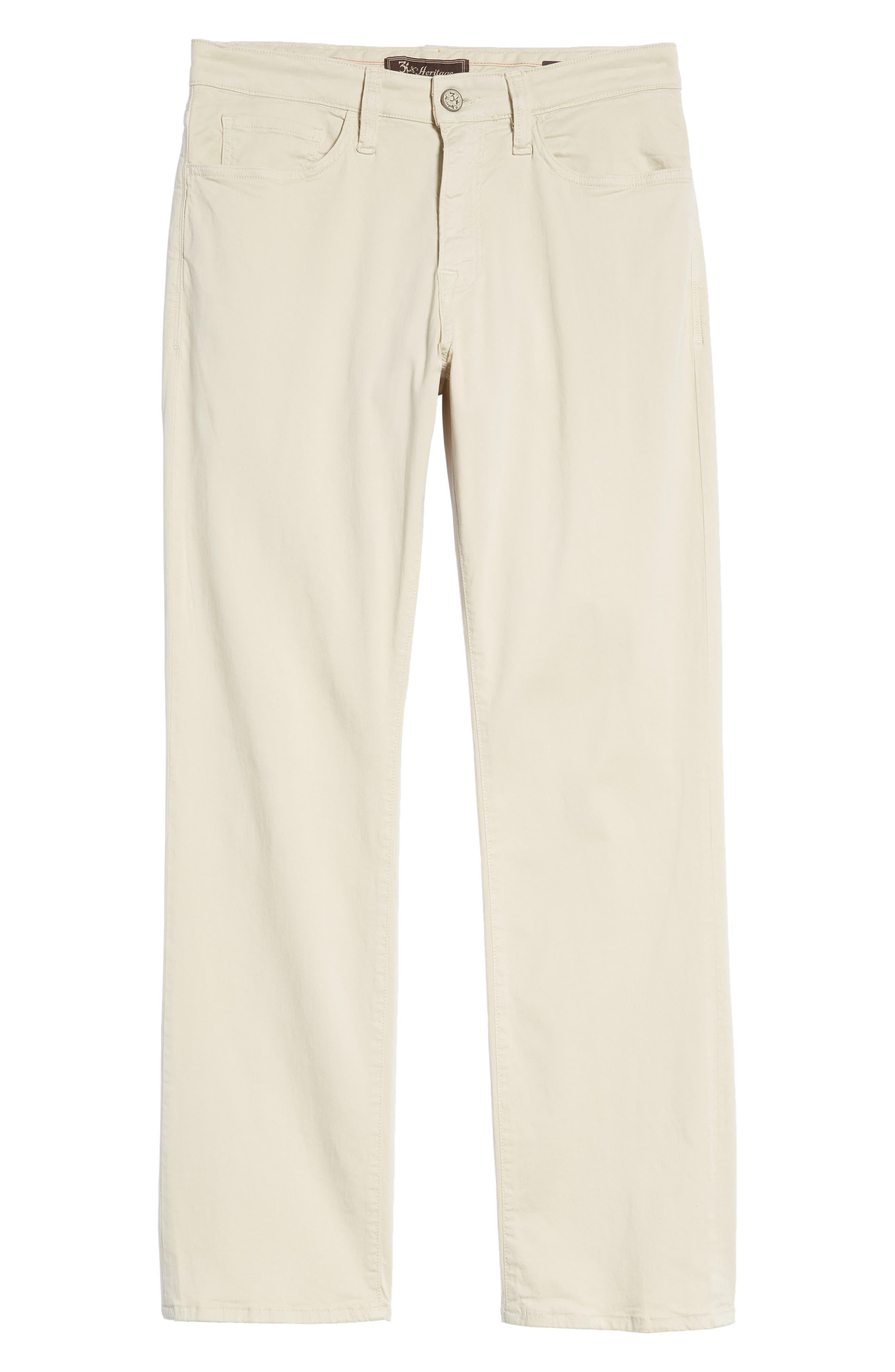 Charisma Relaxed Fit Jeans,                             Alternate thumbnail 6, color,                             BONE TWILL