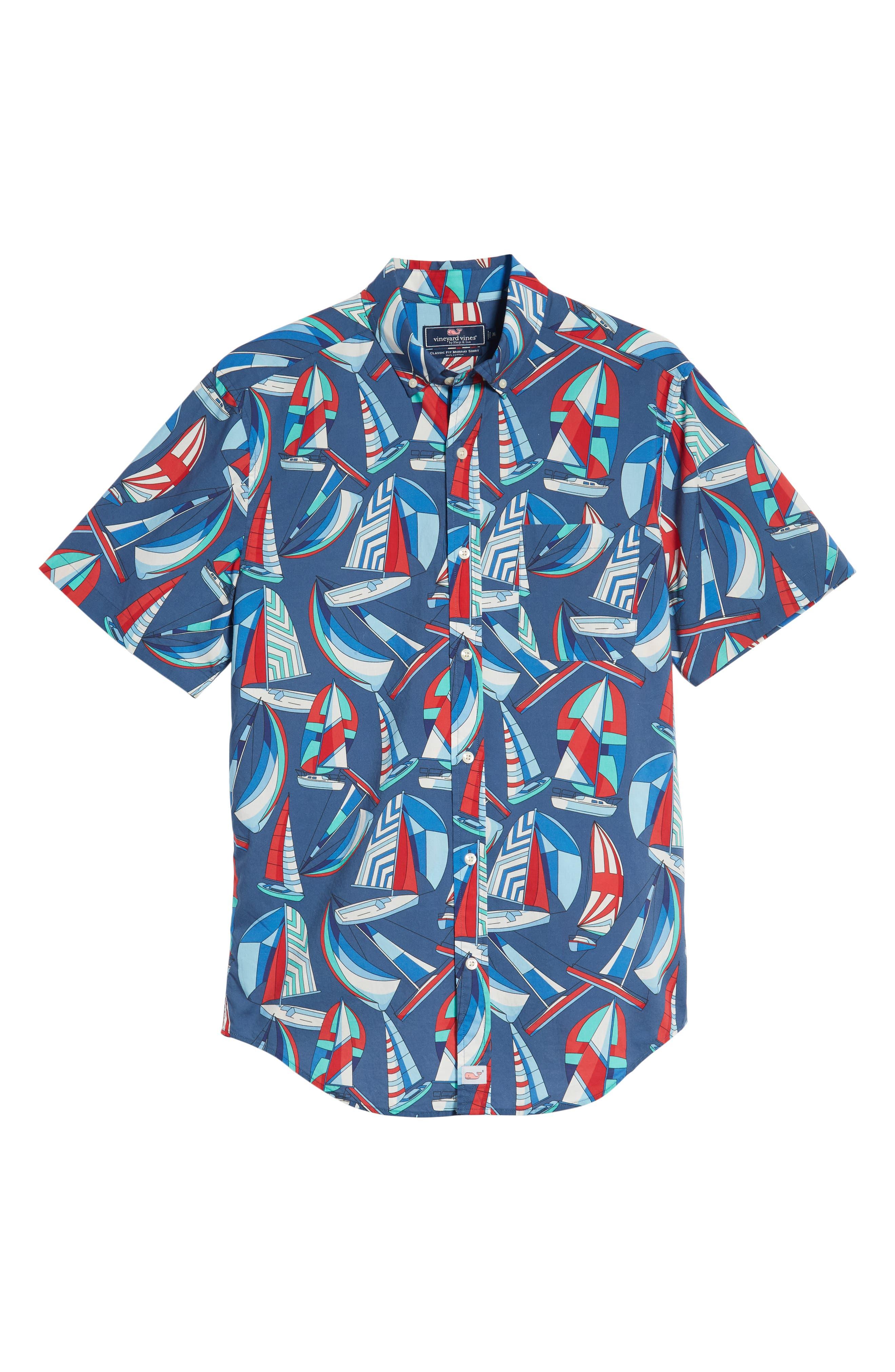 Murray Classic Fit Sport Shirt,                             Alternate thumbnail 5, color,                             461