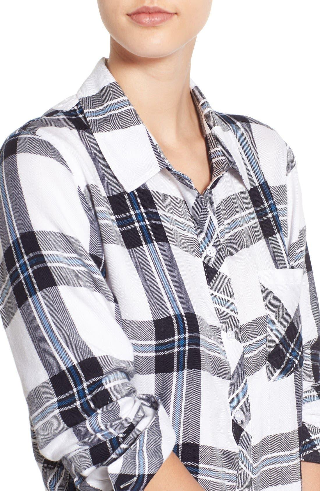 Hunter Plaid Shirt,                             Alternate thumbnail 242, color,