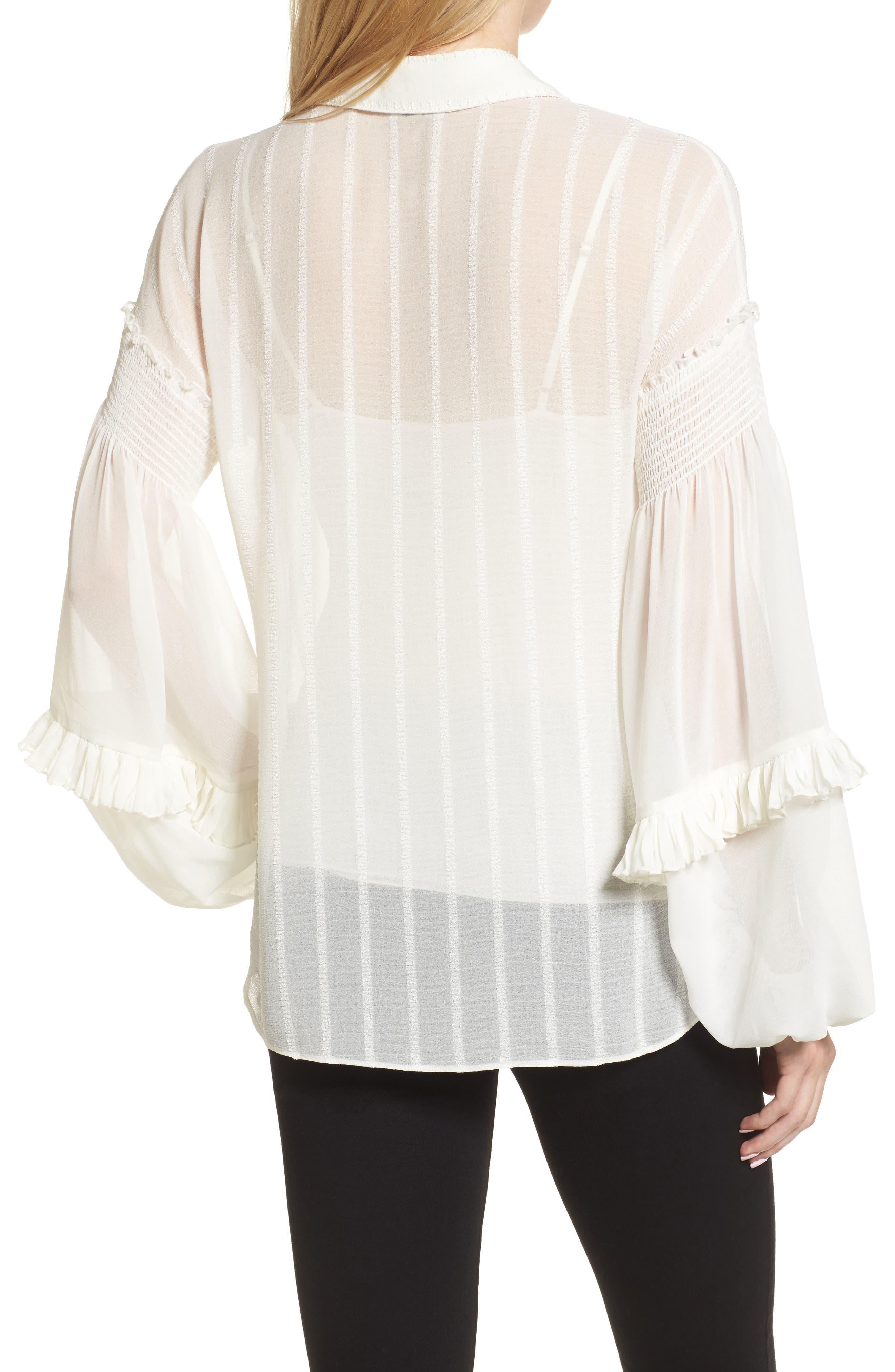 Bloused Sleeve Shirt,                             Alternate thumbnail 2, color,