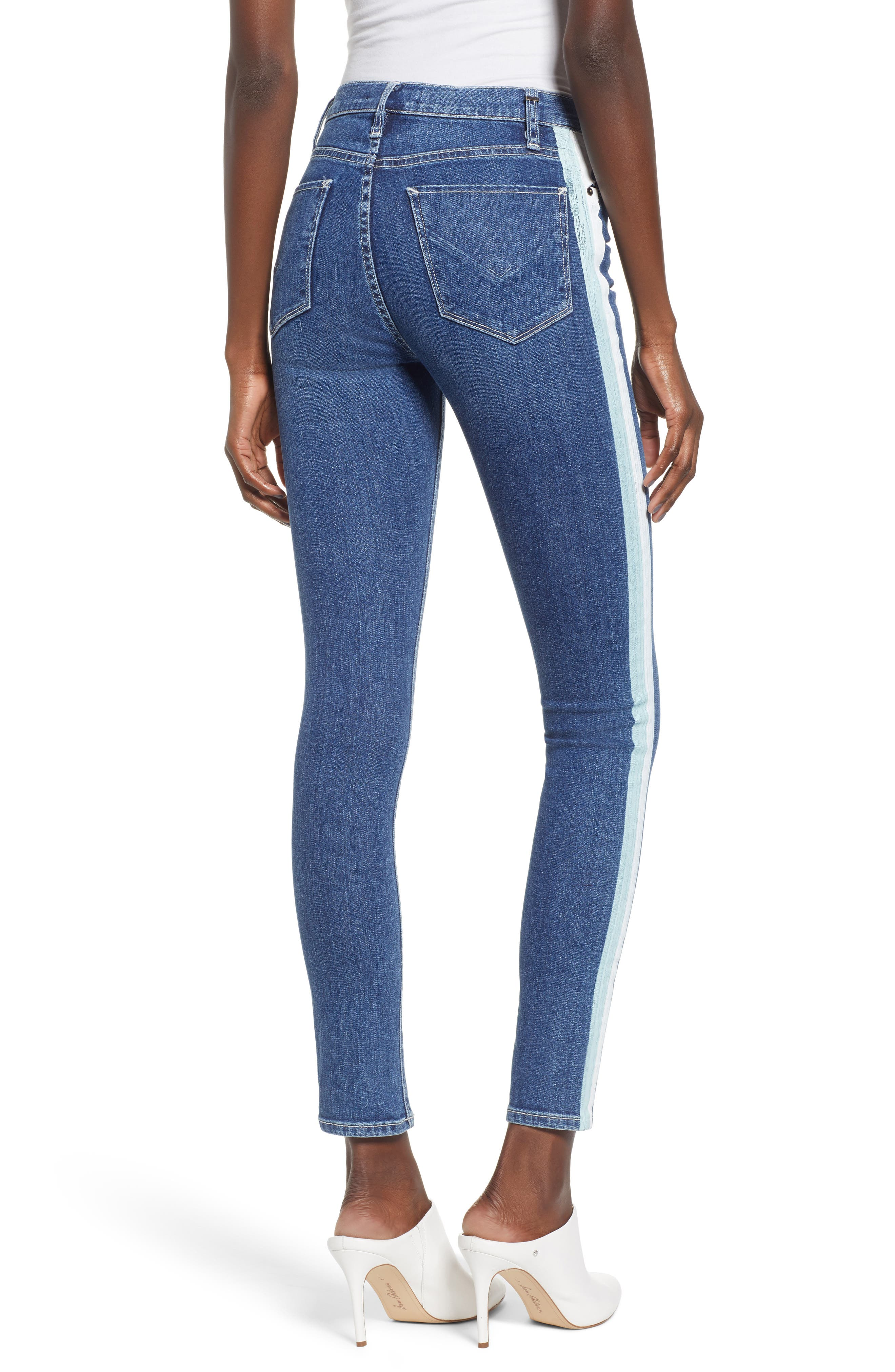 Barbara High Waist Ankle Skinny Jeans,                             Alternate thumbnail 2, color,                             403