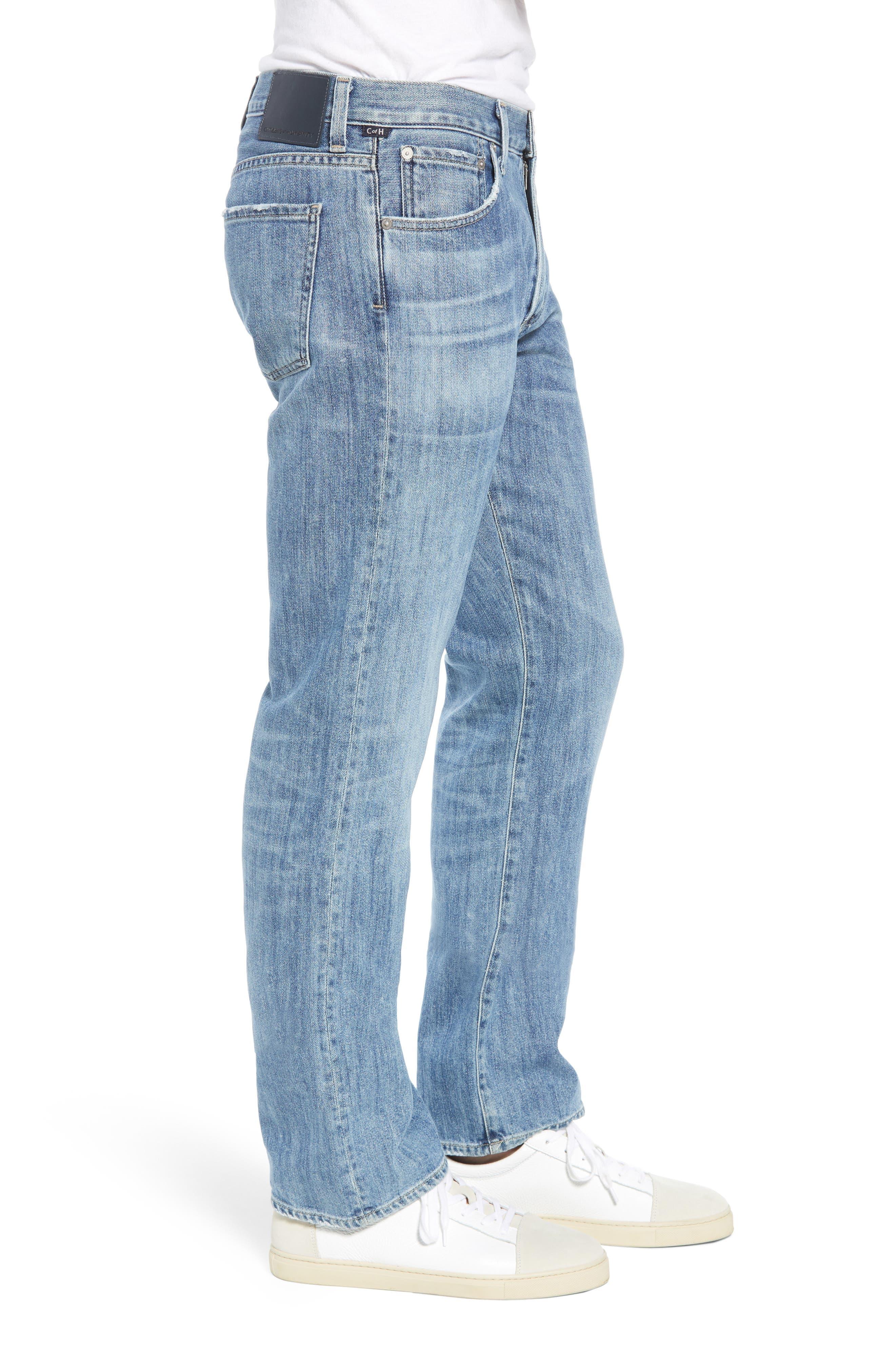 Sid Straight Leg Jeans,                             Alternate thumbnail 3, color,                             464