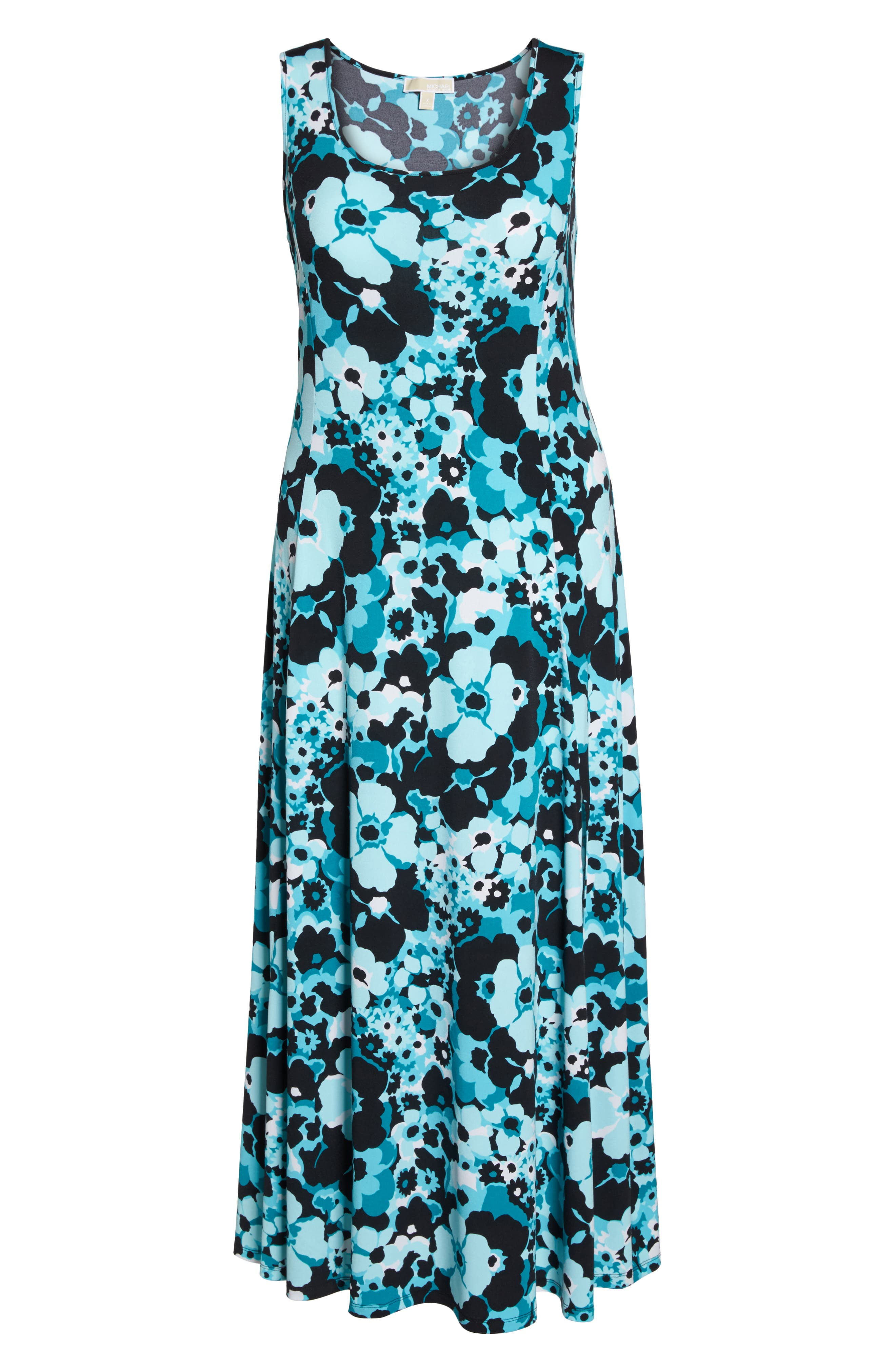 Spring Floral Maxi Tank Dress,                             Alternate thumbnail 6, color,