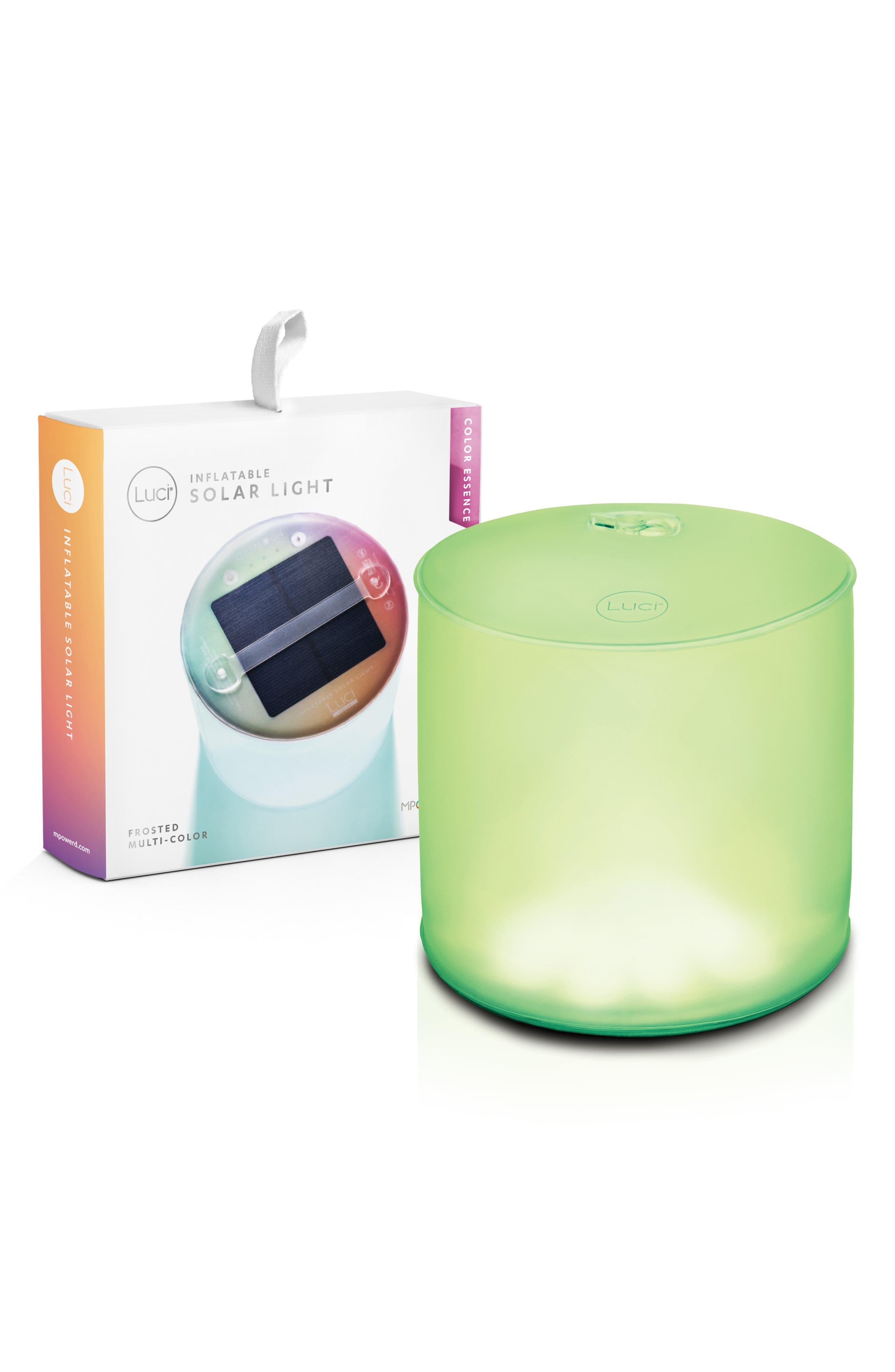 x Soda Luci Color Essence Inflatable Solar Lantern,                             Alternate thumbnail 3, color,                             NONE