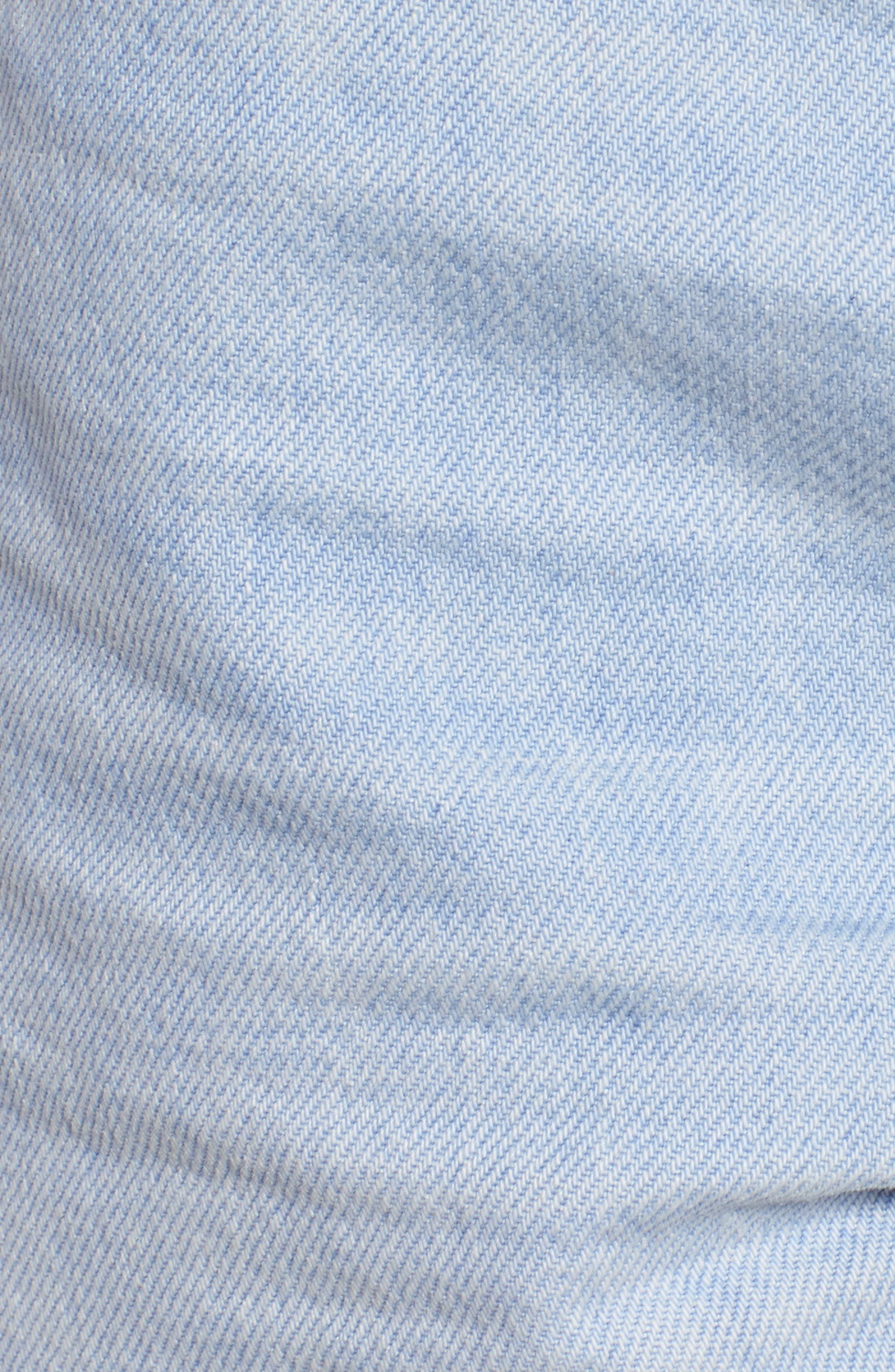 Sade Cutoff Denim Shorts,                             Alternate thumbnail 6, color,                             460
