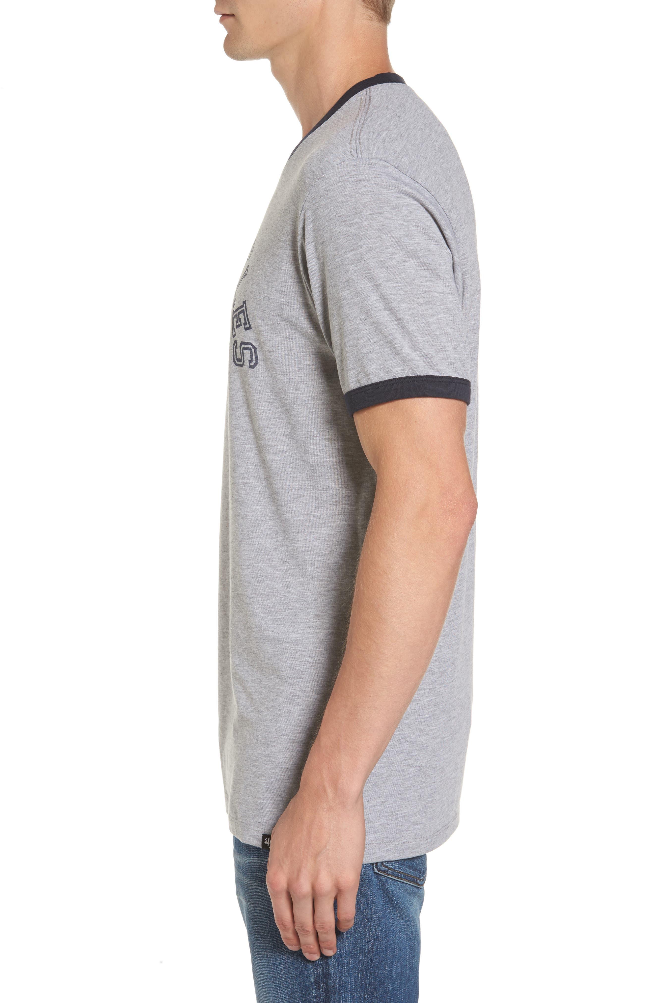 Los Angeles Rams Ringer T-Shirt,                             Alternate thumbnail 3, color,                             020