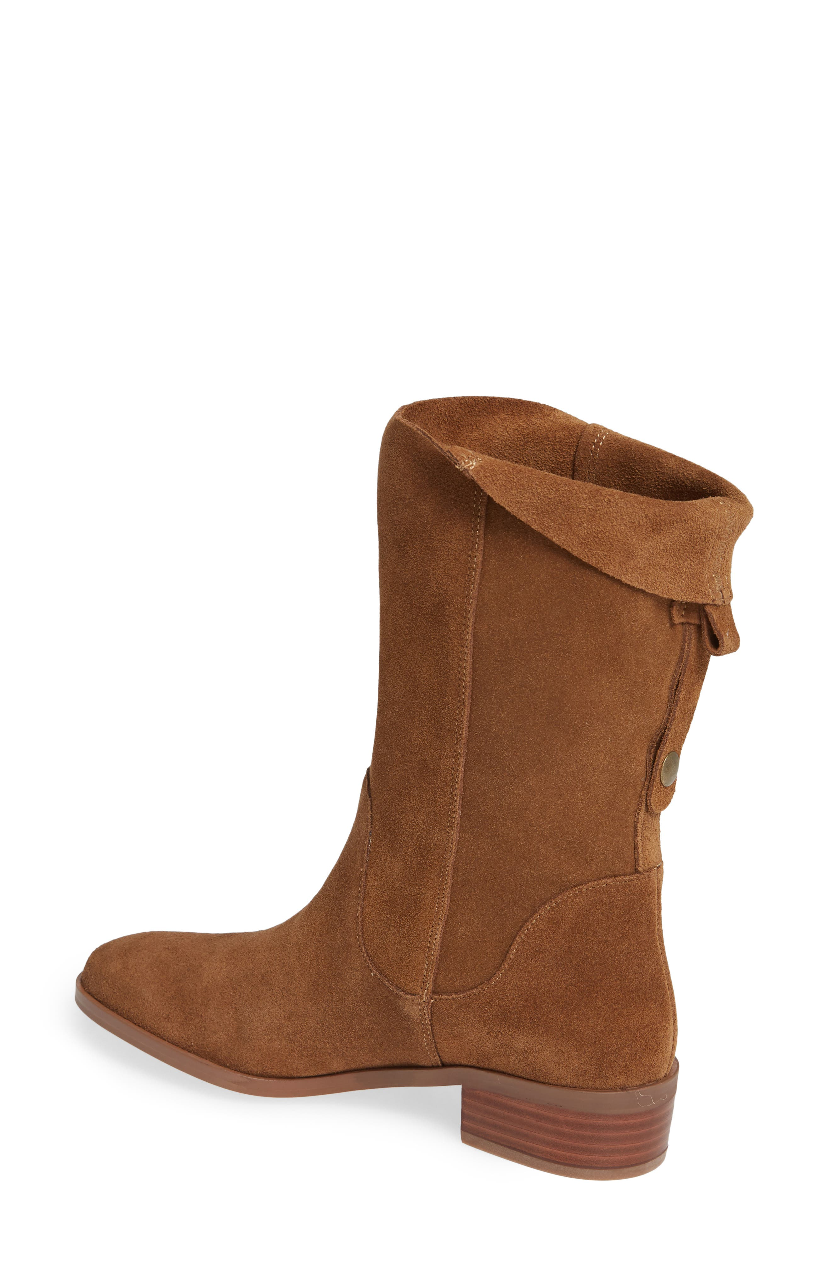 Calanth Bootie,                             Alternate thumbnail 2, color,                             TOBACCO SUEDE