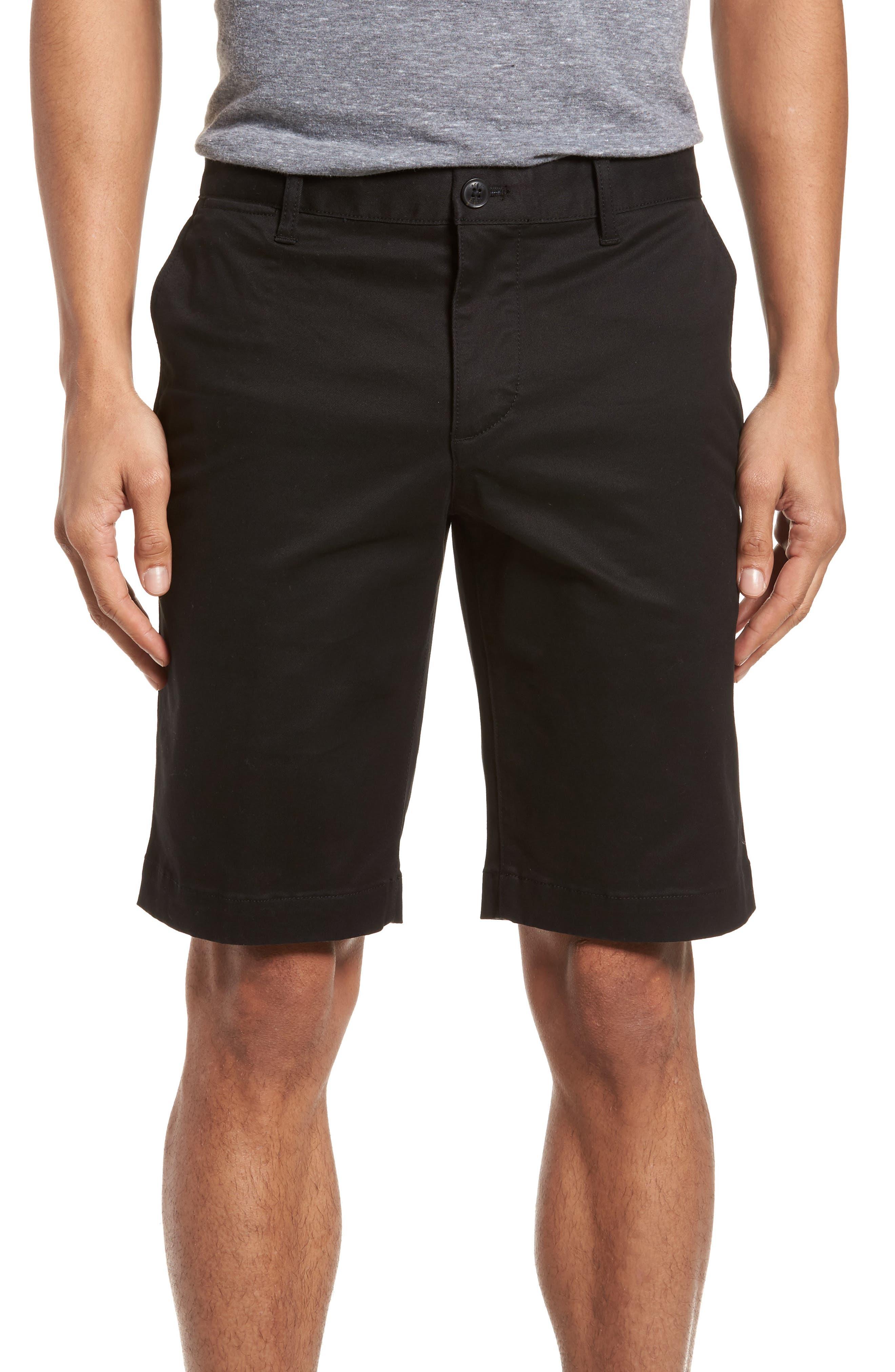 Slim Fit Chino Shorts,                             Main thumbnail 1, color,                             001