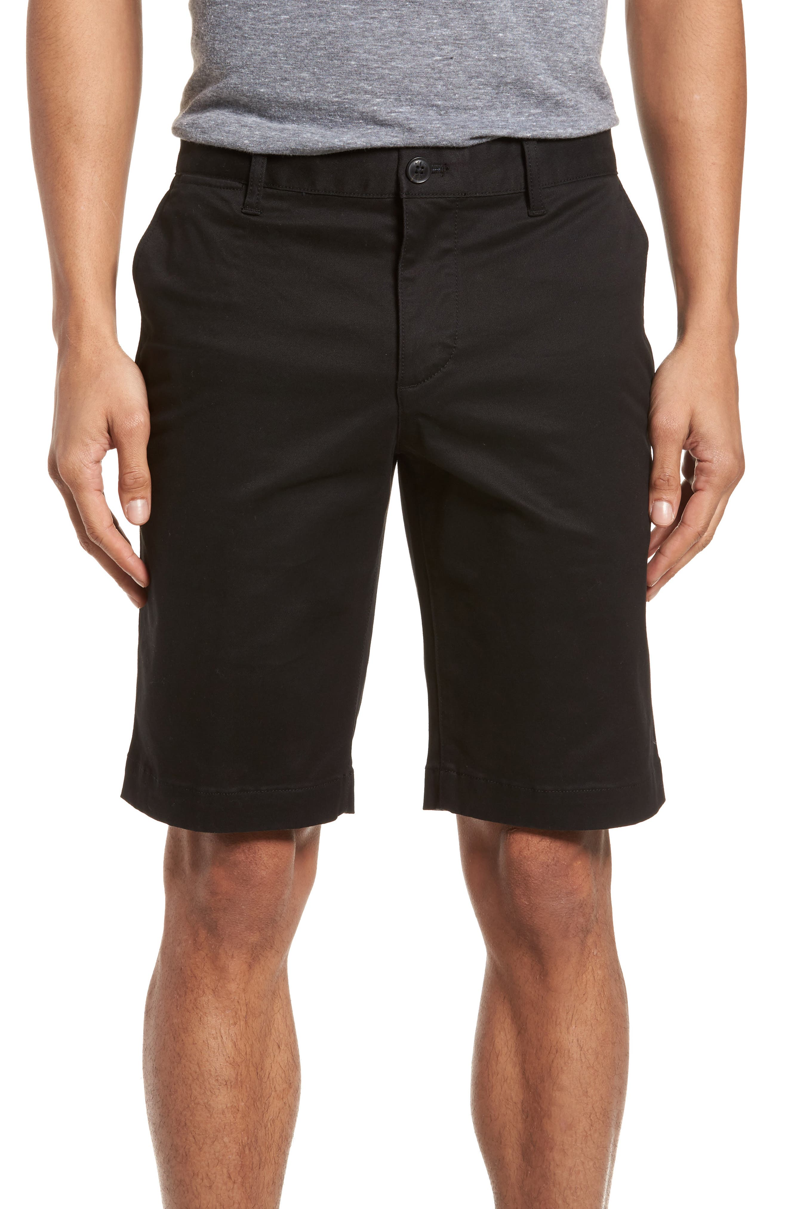 Slim Fit Chino Shorts,                         Main,                         color, 001