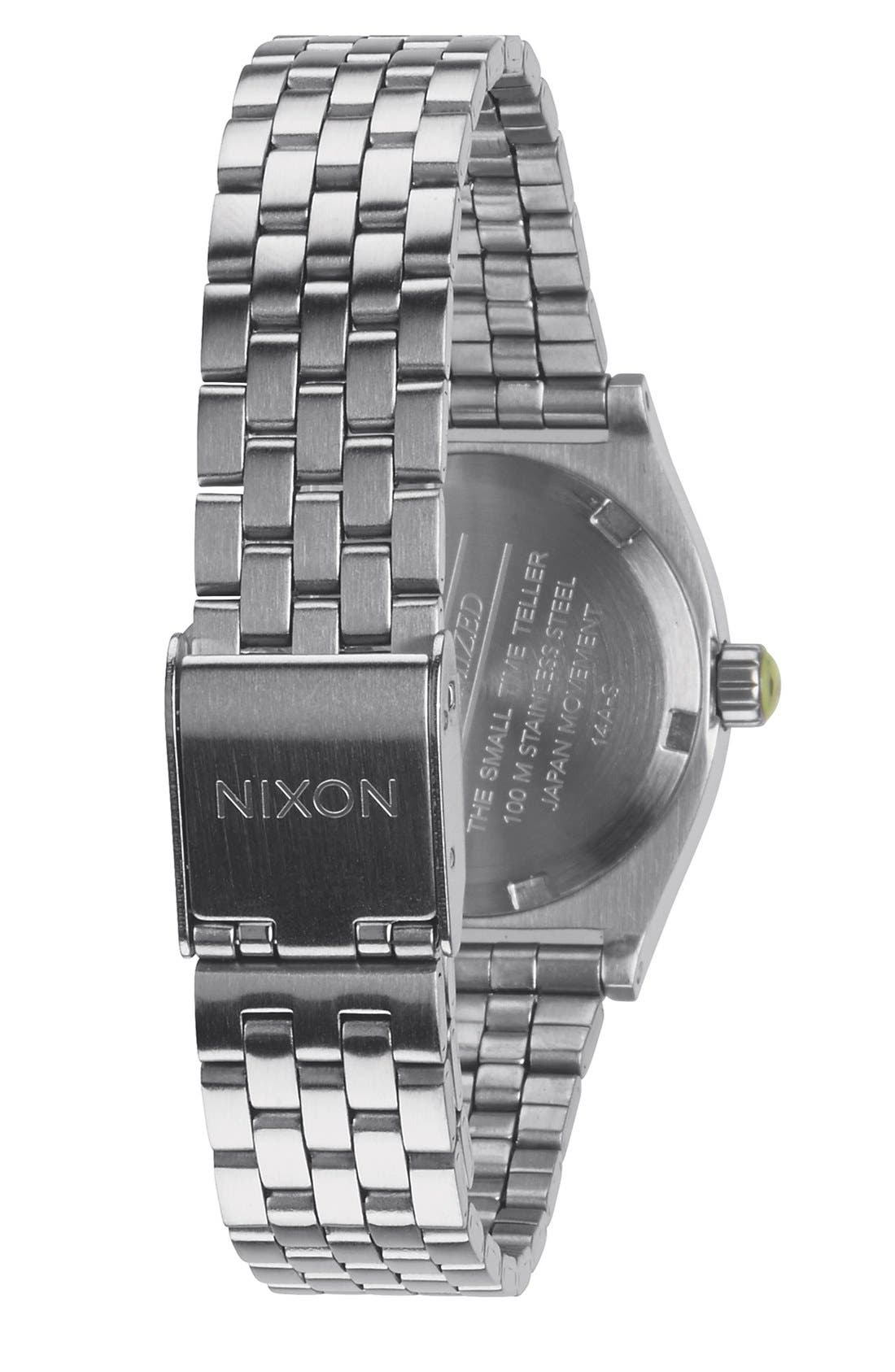 'The Small Time Teller' Bracelet Watch, 26mm,                             Alternate thumbnail 21, color,
