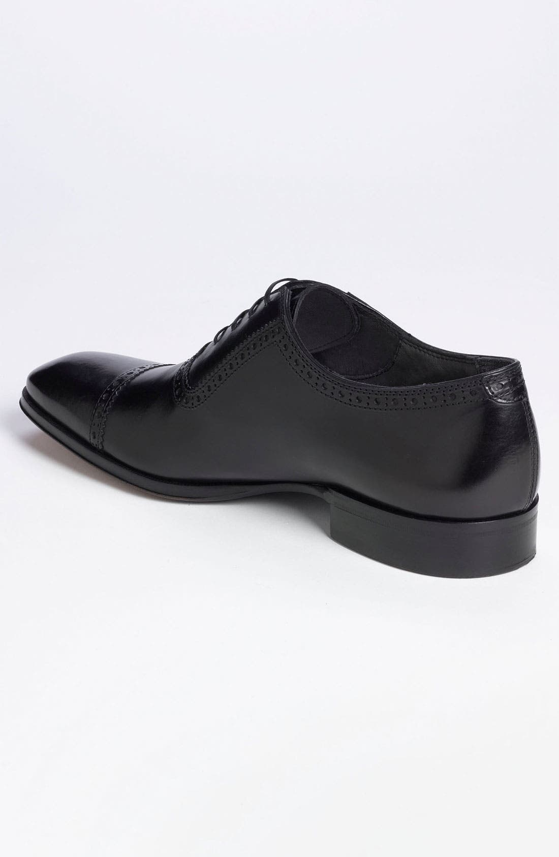 TO BOOT NEW YORK,                             'Warwick' Cap Toe Oxford,                             Alternate thumbnail 6, color,                             001