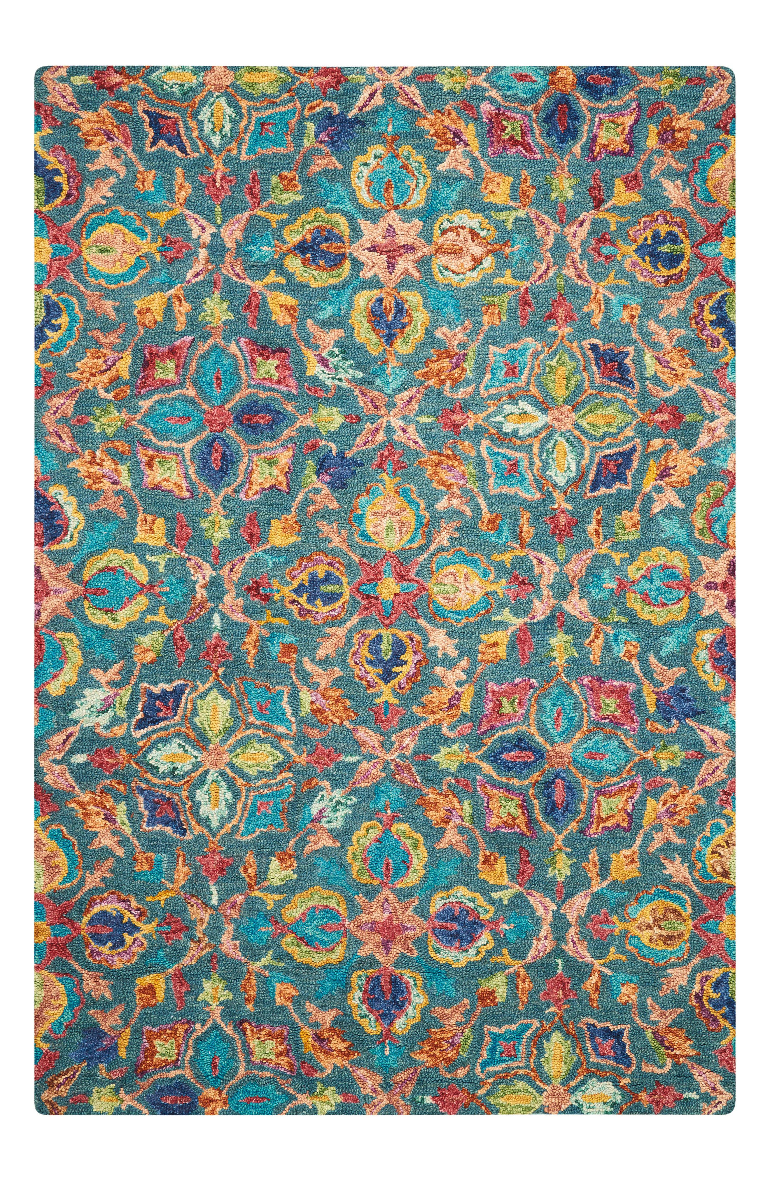 Vivid Wool Rug,                             Main thumbnail 1, color,                             400