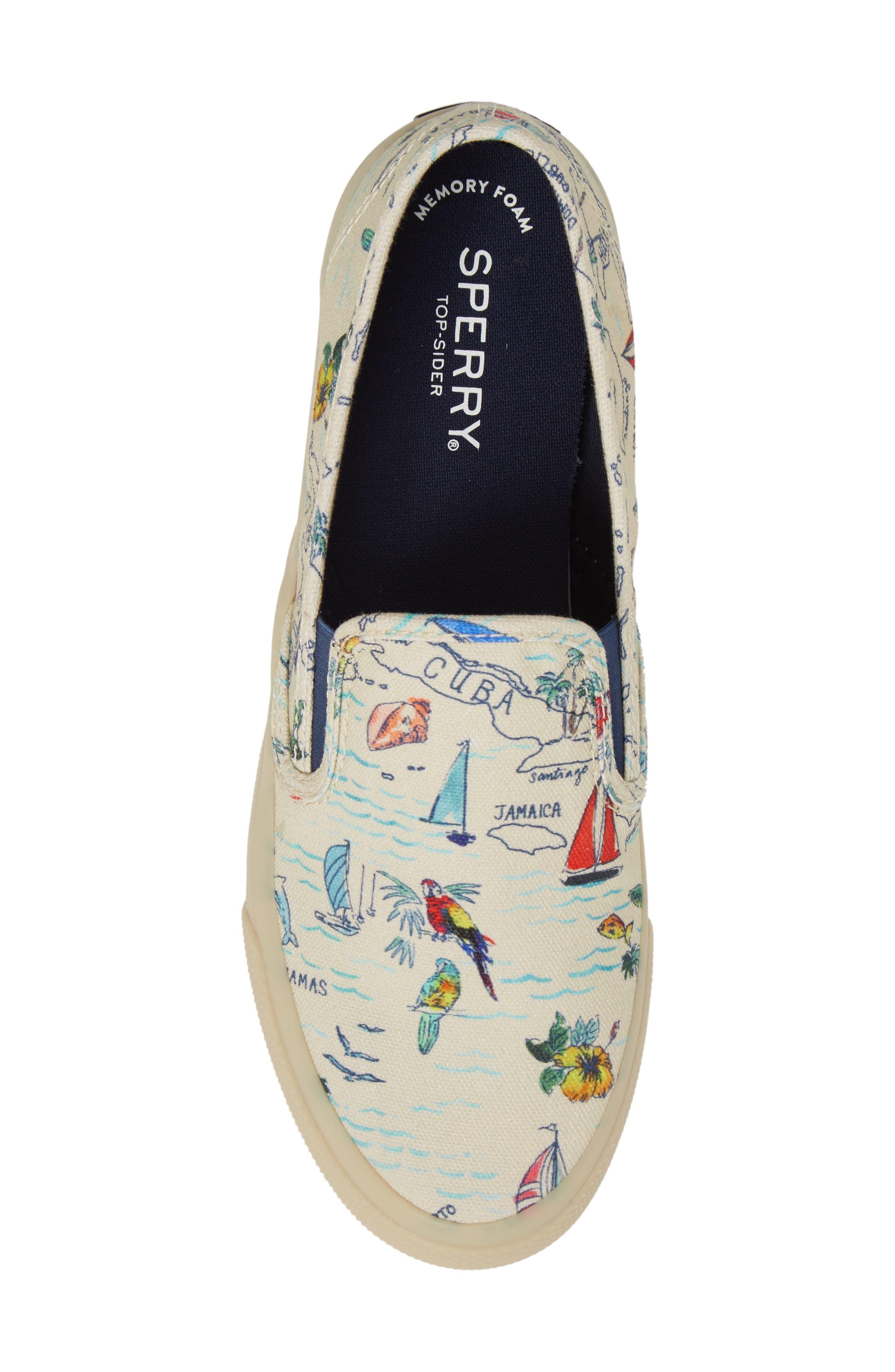Seaside Slip-On Sneaker,                             Alternate thumbnail 5, color,                             101