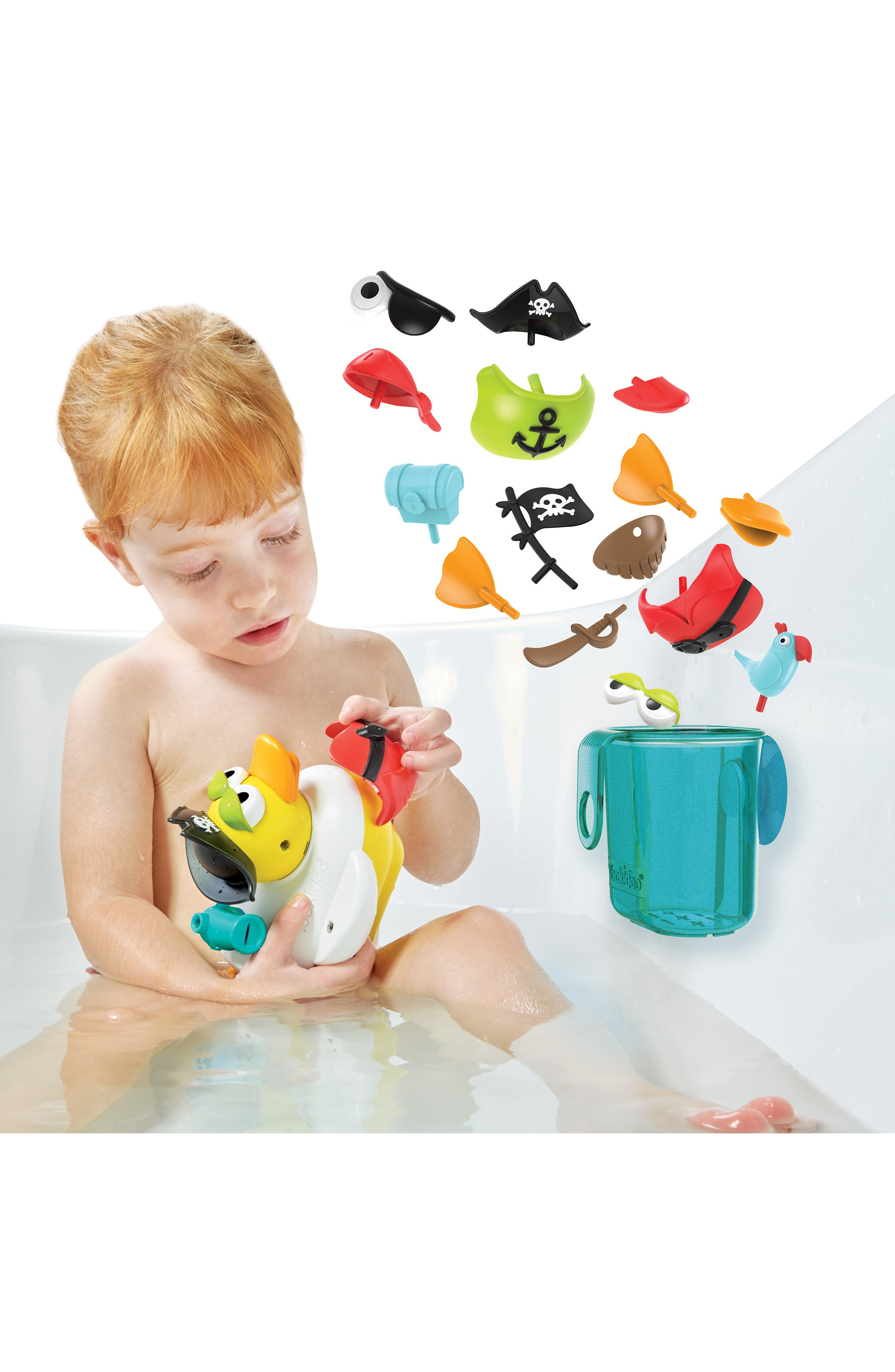 Jet Duck<sup>™</sup> Create a Pirate Bath Toy Kit,                             Alternate thumbnail 10, color,                             YELLOW