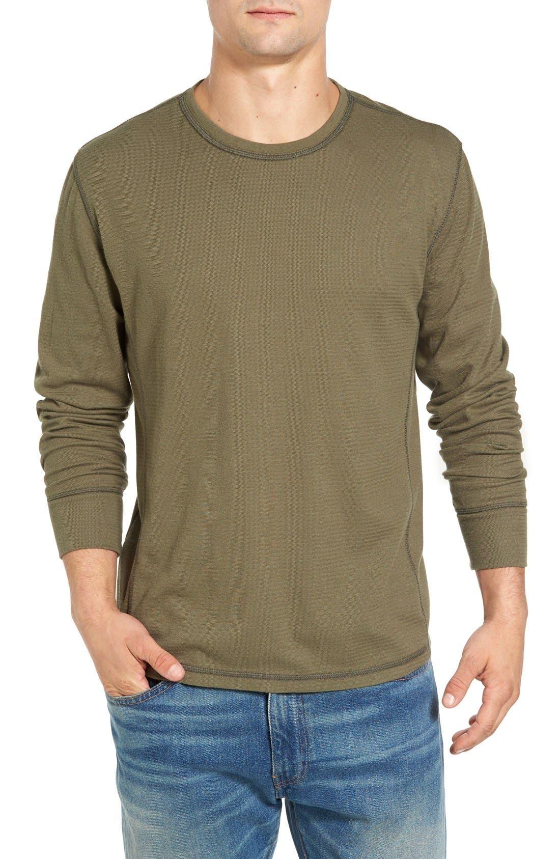 Larsen Zigzag Thermal T-Shirt,                             Main thumbnail 3, color,