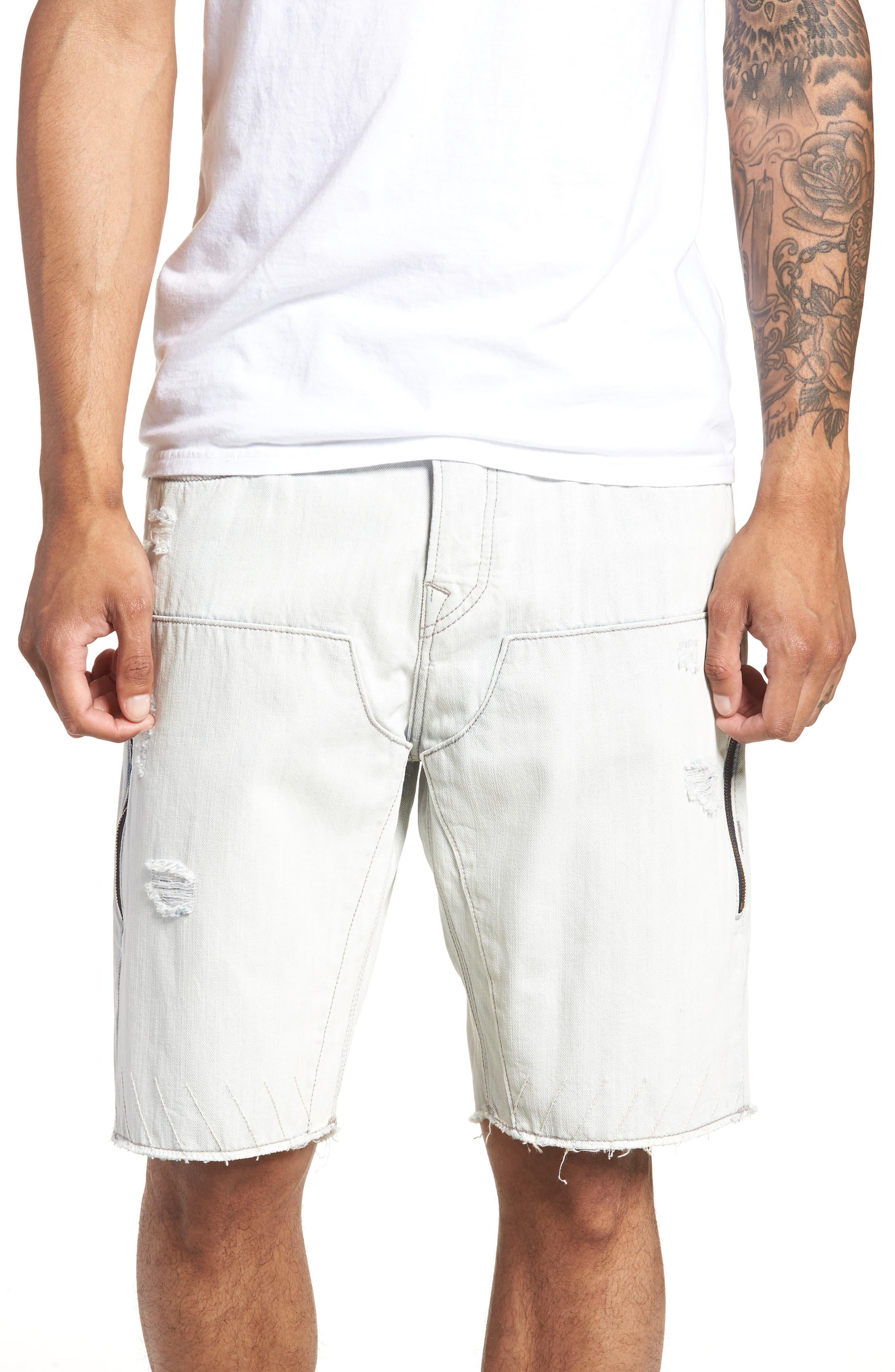 TRUE RELIGION BRAND JEANS Field Shorts, Main, color, 403