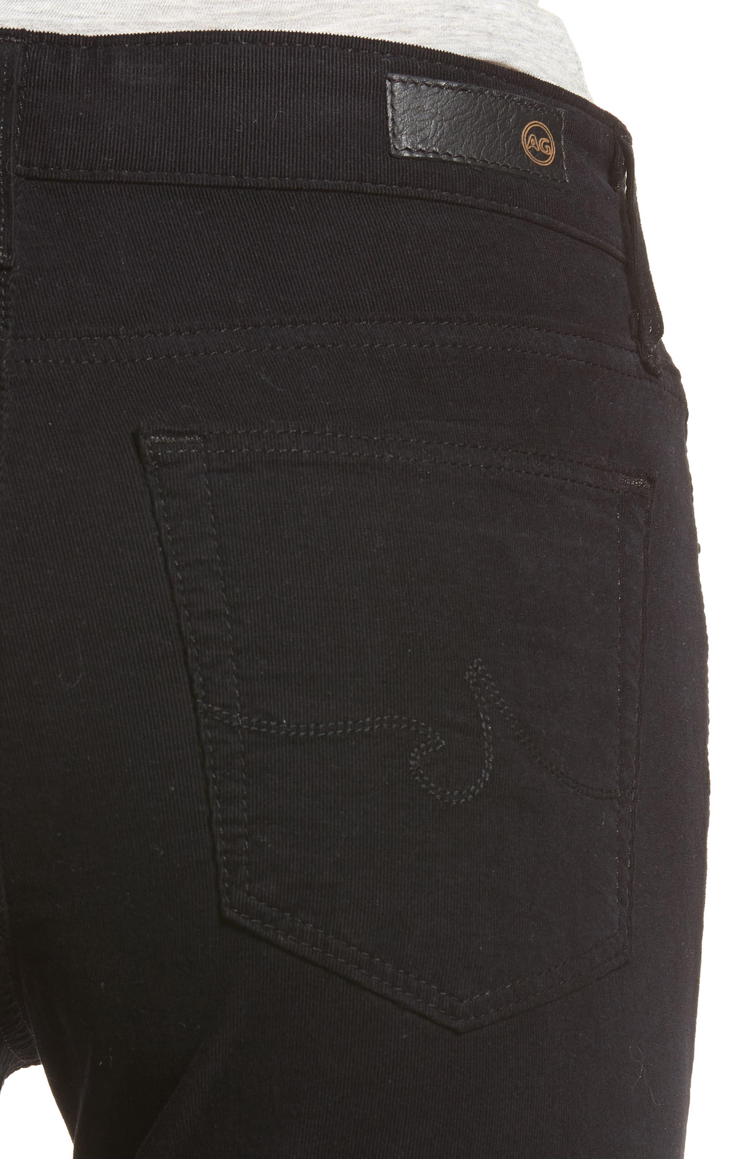 The Farrah High Waist Skinny Corduroy Pants,                             Alternate thumbnail 4, color,                             010