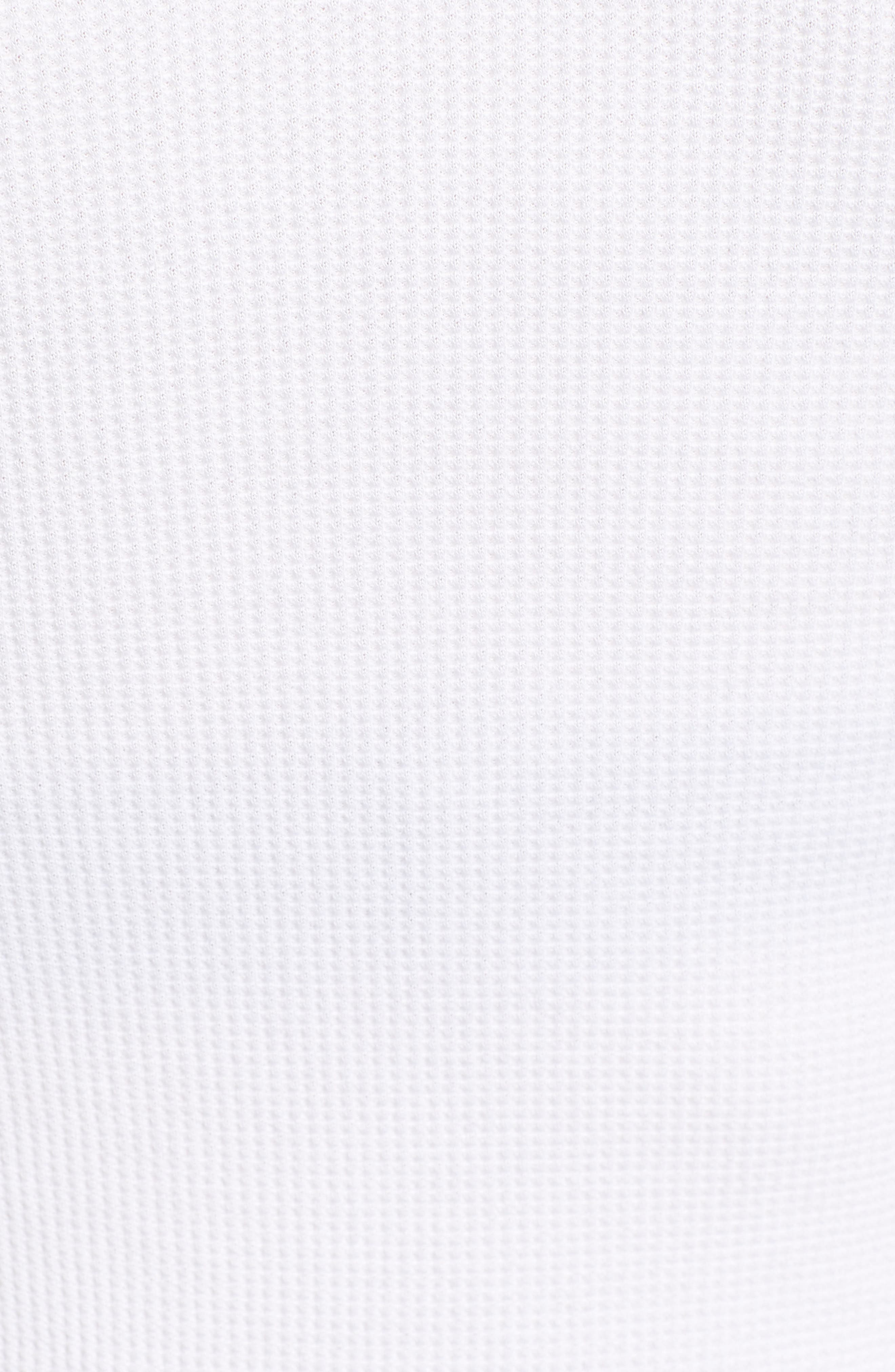 Classic Henley Thermal,                             Alternate thumbnail 5, color,                             WHITE