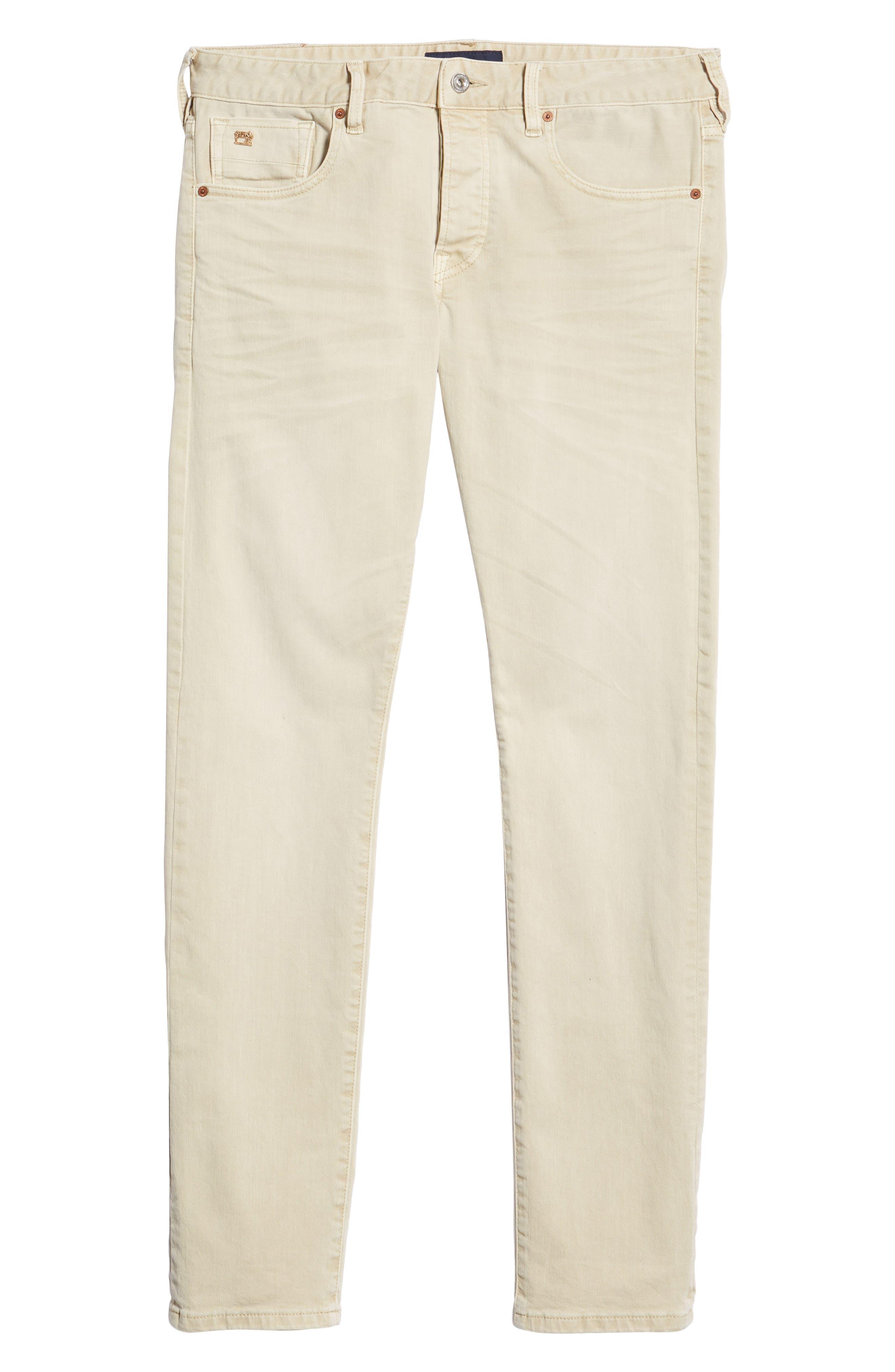 Ralston Slim Fit Pants,                             Alternate thumbnail 6, color,                             SAND