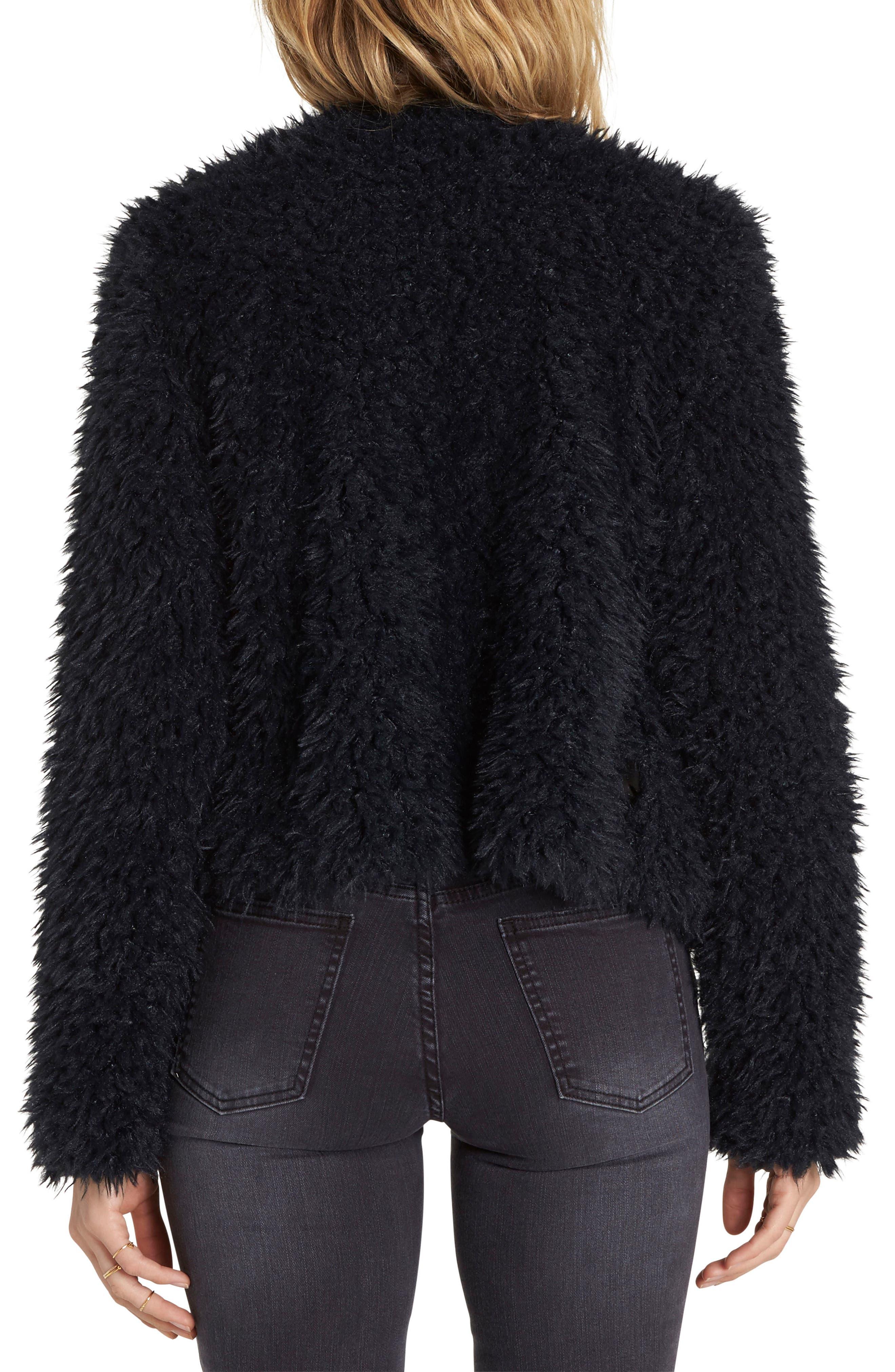Keeps Faux Fur Jacket,                             Alternate thumbnail 2, color,                             015