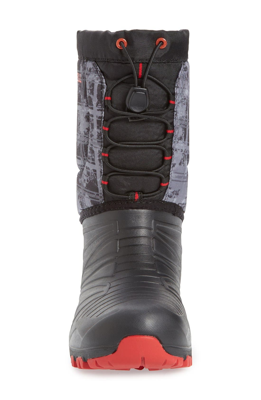 'Snow Quest' Waterproof Boot,                             Alternate thumbnail 3, color,                             001